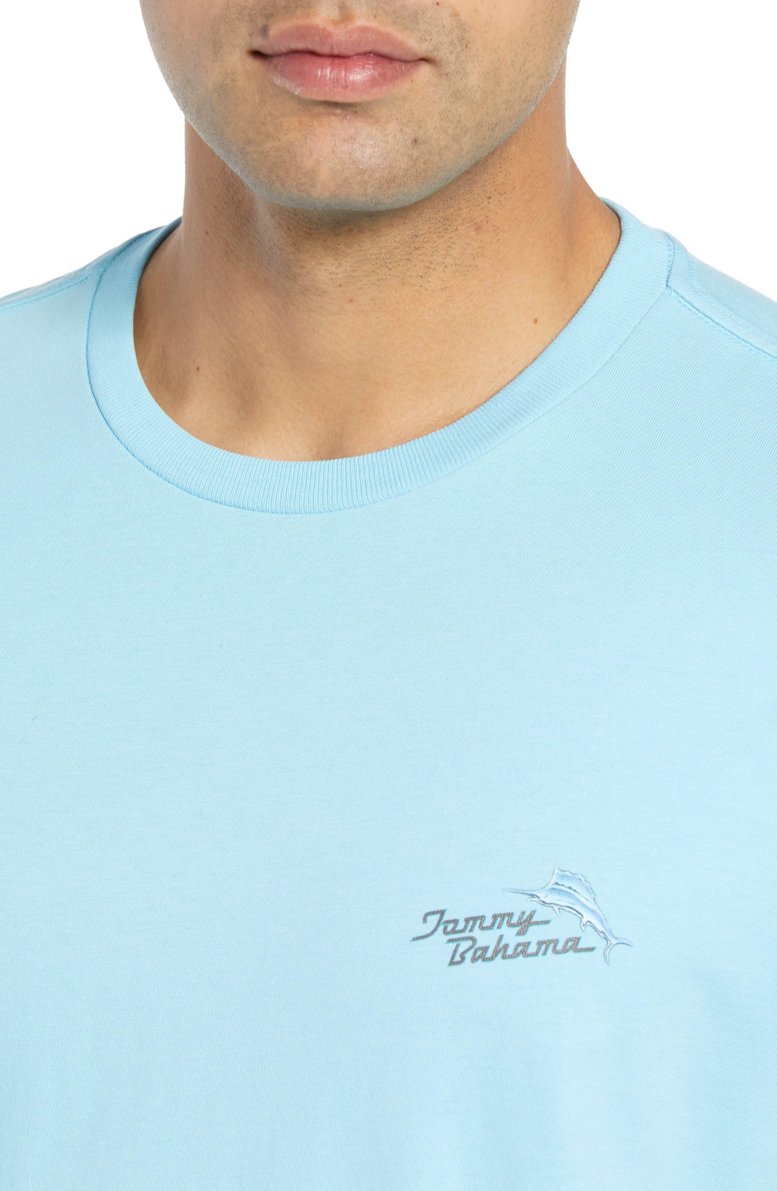 Beach Grille T-Shirt,                             Alternate thumbnail 5, color,                             Bowtie Blue