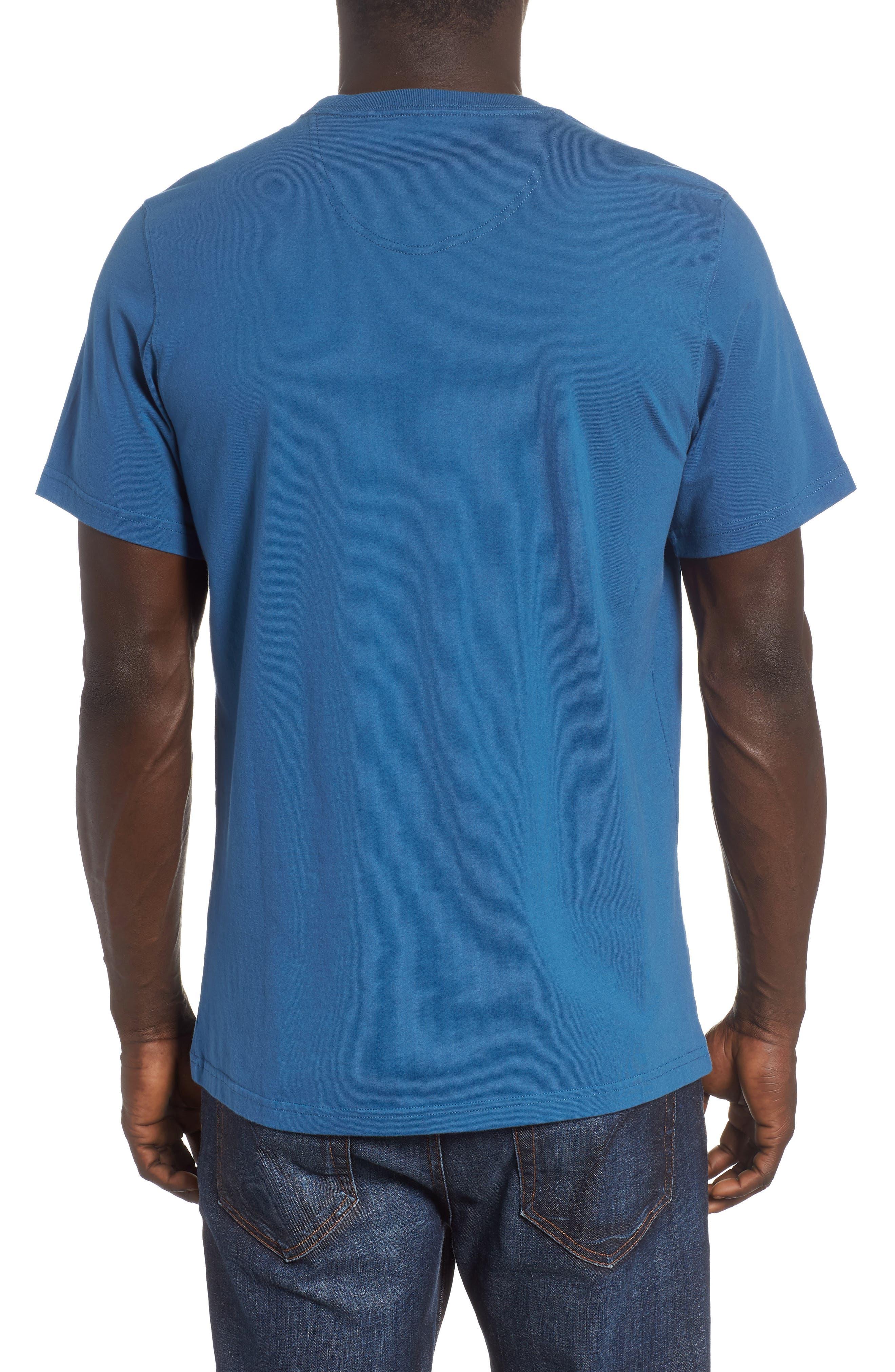 Waterline Graphic T-Shirt,                             Alternate thumbnail 2, color,                             Sea Blue