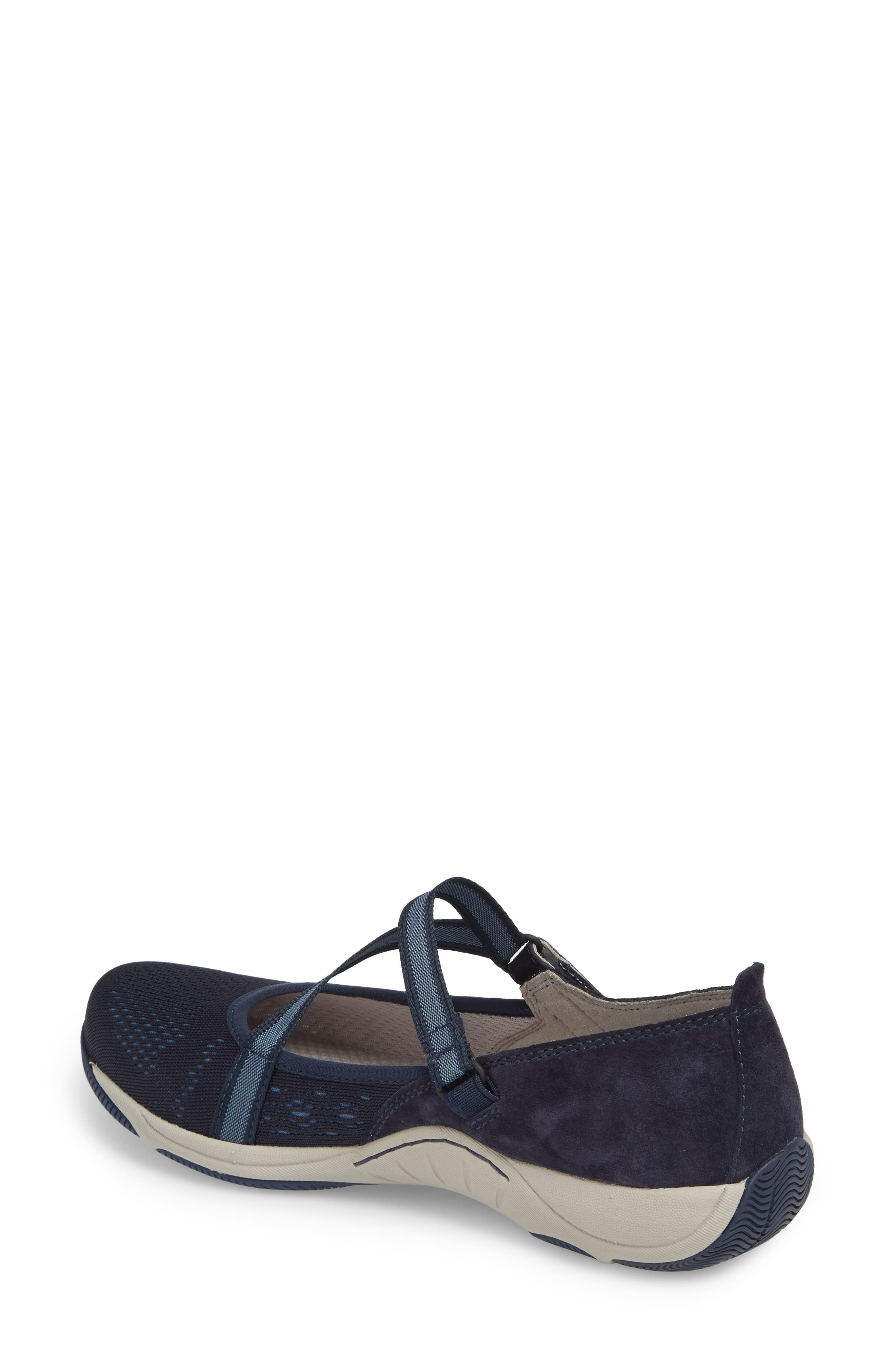 Haven Mary Jane Sneaker,                             Alternate thumbnail 2, color,                             Navy Suede