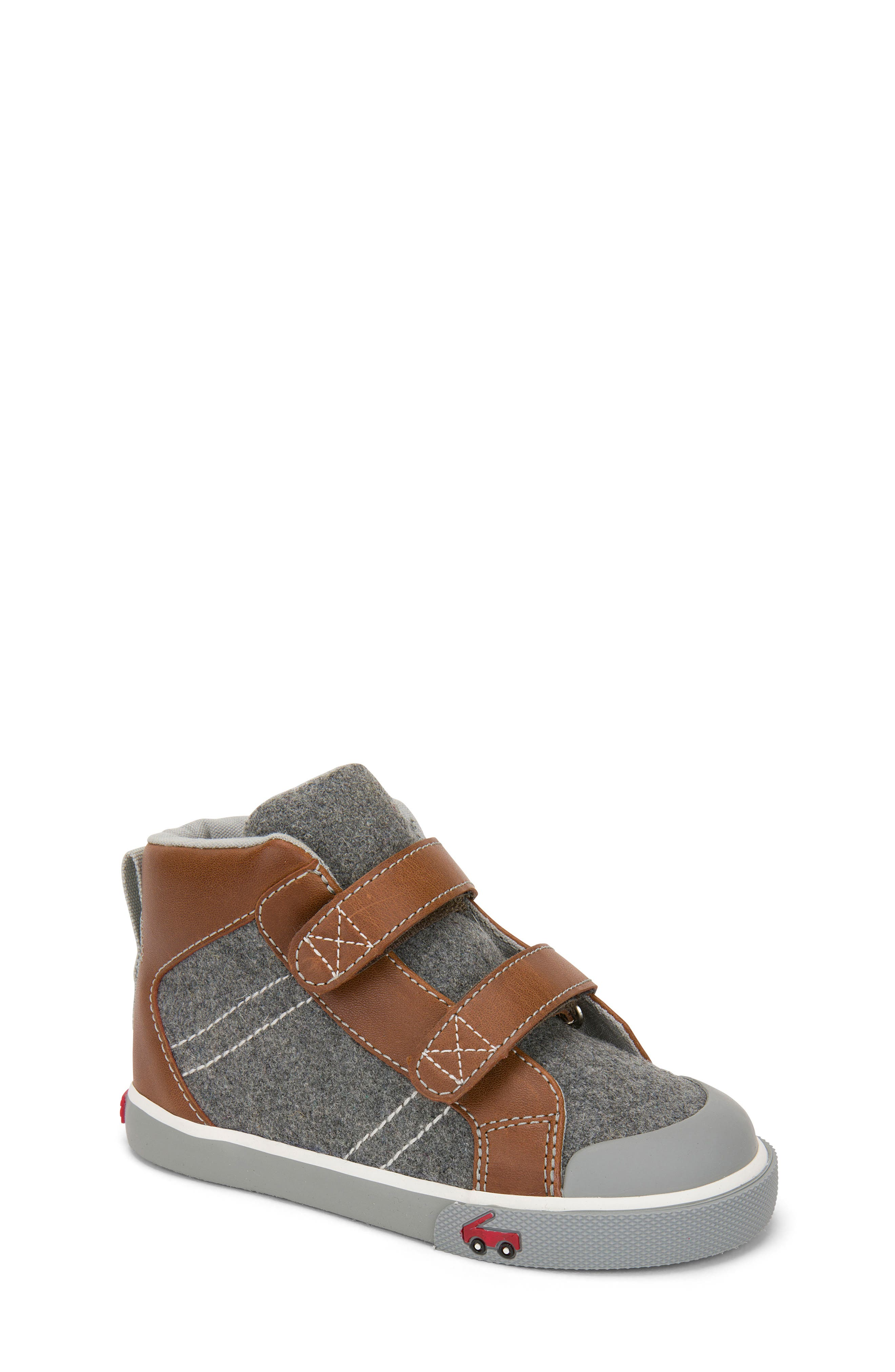 Matty Sneaker,                         Main,                         color, Gray Felt