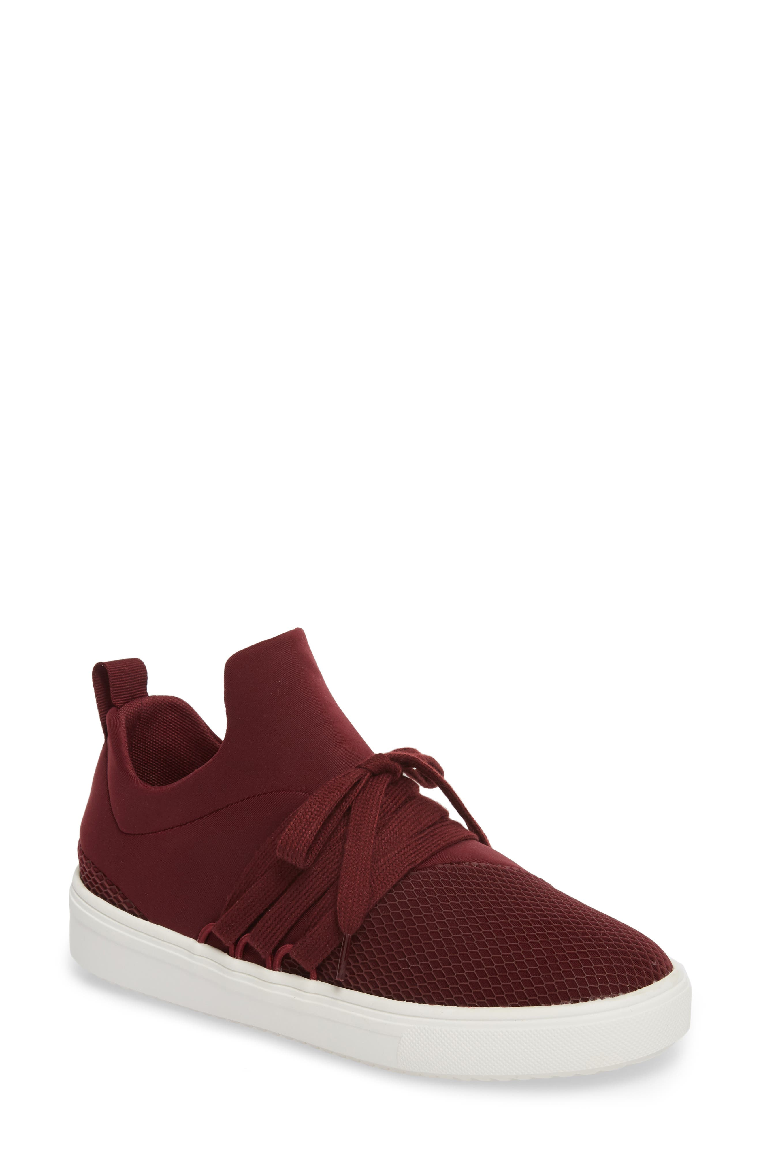 Lancer Sneaker,                             Main thumbnail 1, color,                             Burgundy
