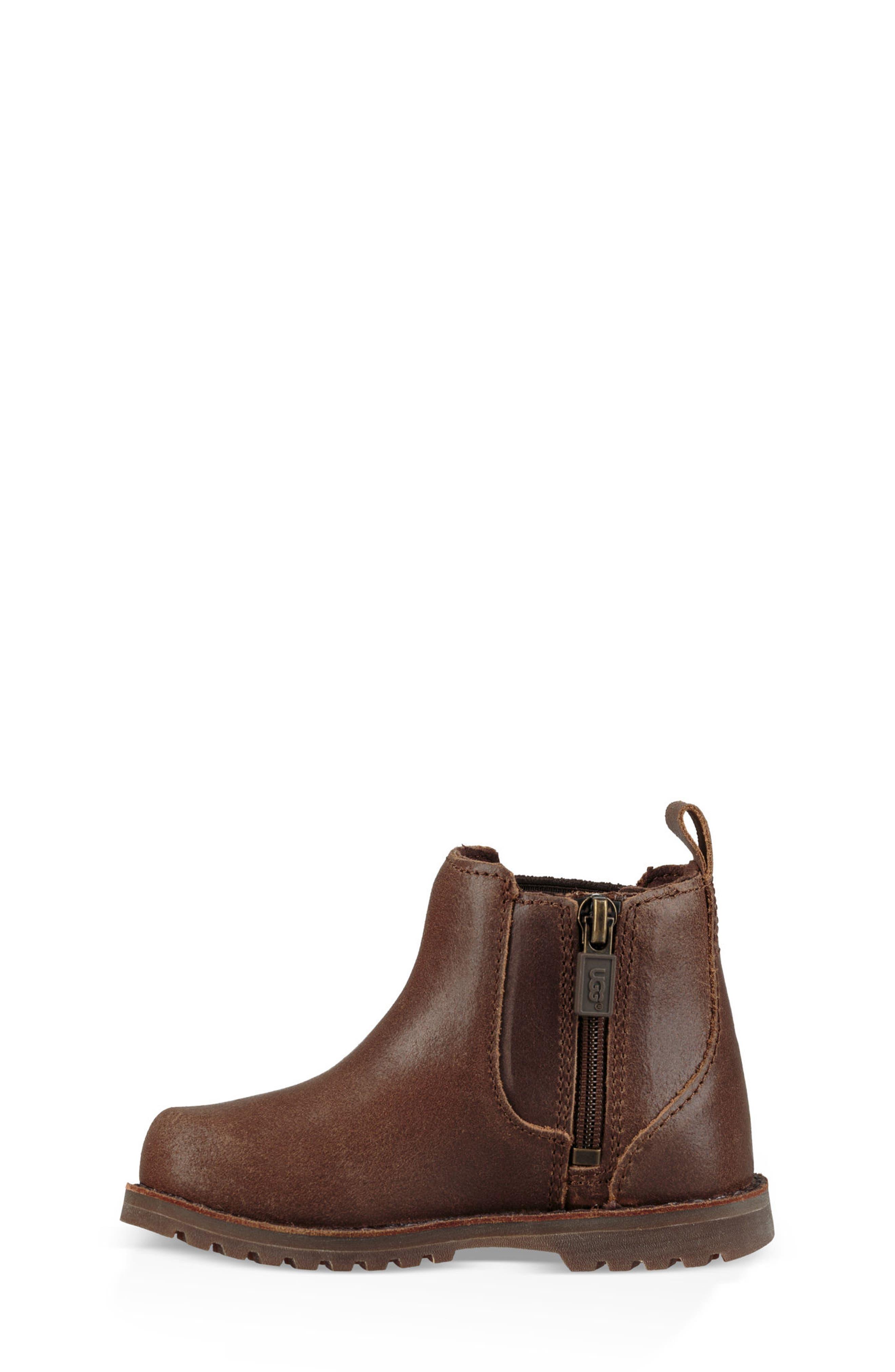 Callum Water Resistant Chelsea Boot,                             Alternate thumbnail 2, color,                             Chocolate Brown