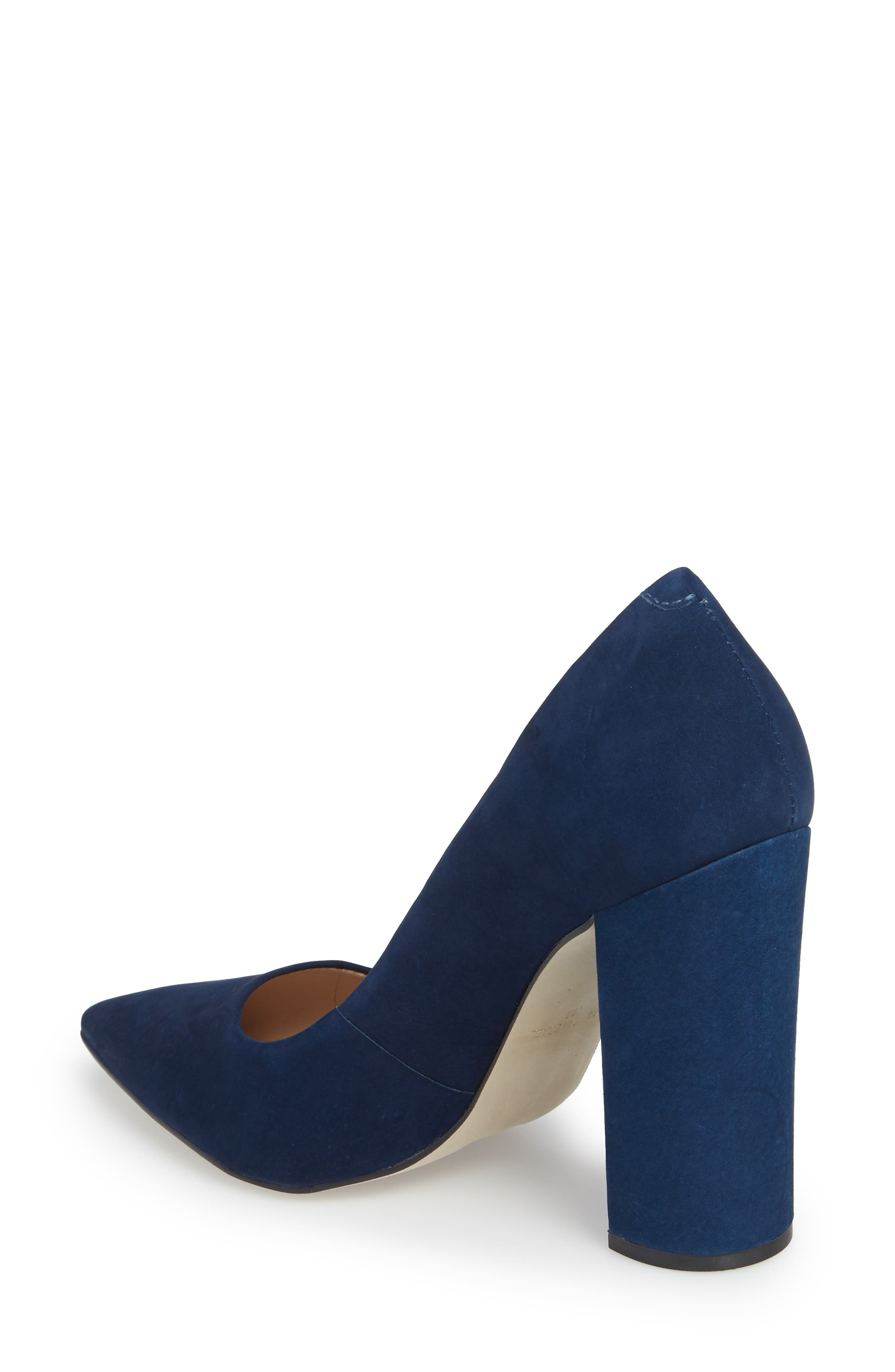 Prance Pump,                             Alternate thumbnail 2, color,                             Navy Nubuck