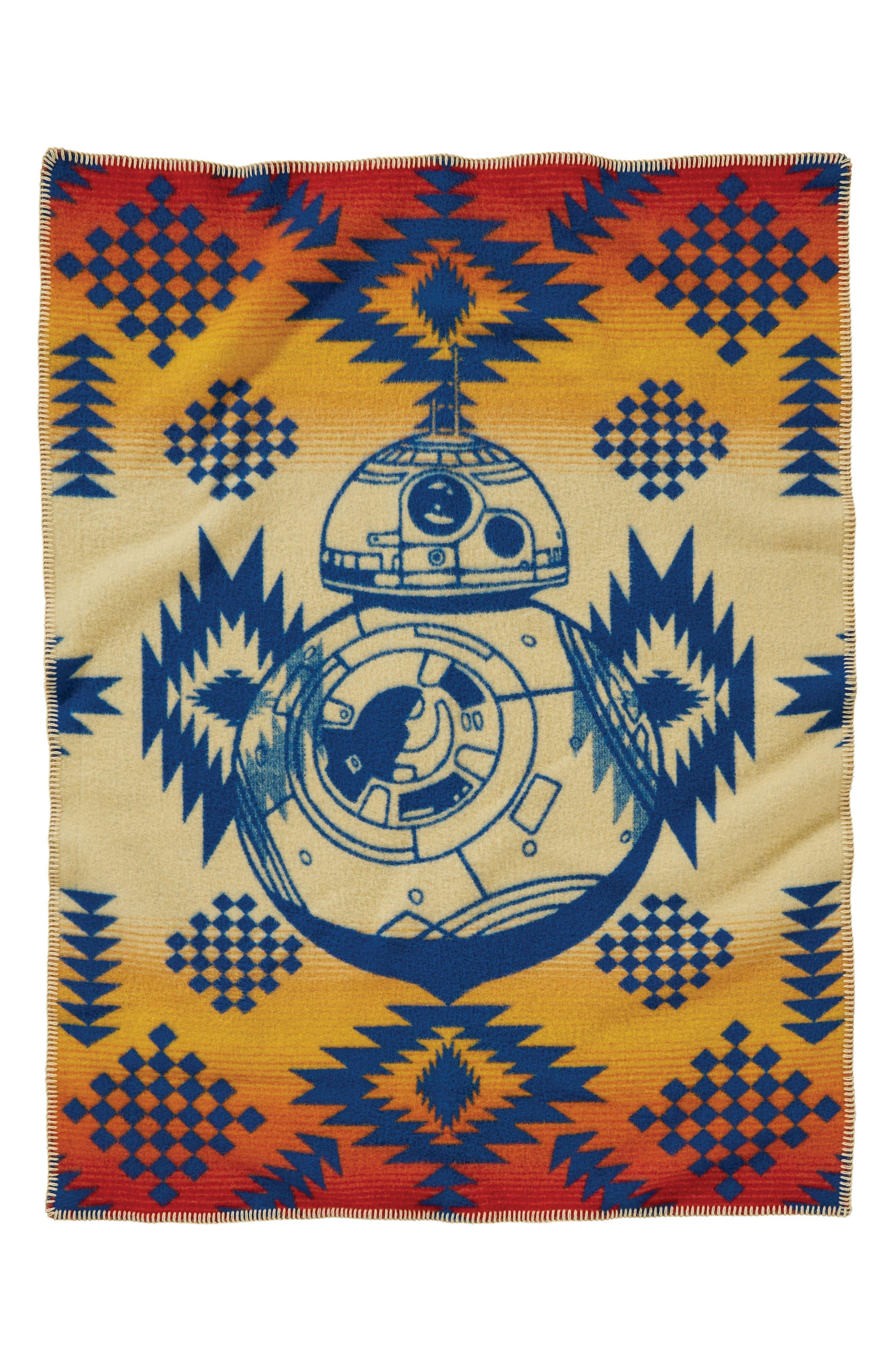 Star Wars<sup>™</sup> BB-8 Baby Blanket,                             Main thumbnail 1, color,                             Multi