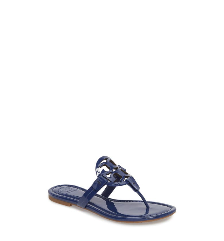 ab6415acf31ad A foam-cushioned footbed makes it a comfortable choice for long summertime  days. Style Name  Tory Burch Miller Flip Flop ...