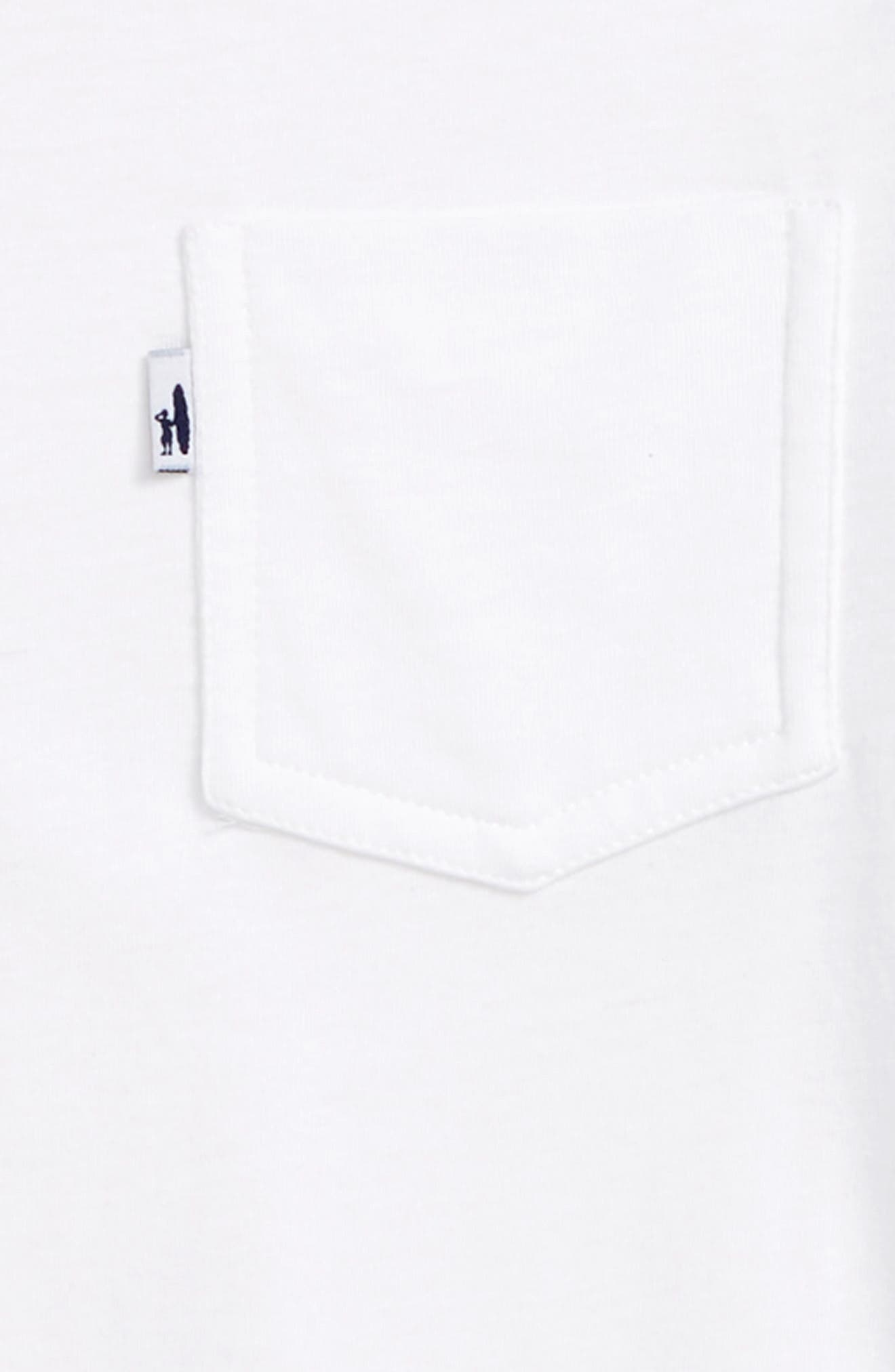 Lawson Pocket T-Shirt,                             Alternate thumbnail 2, color,                             White