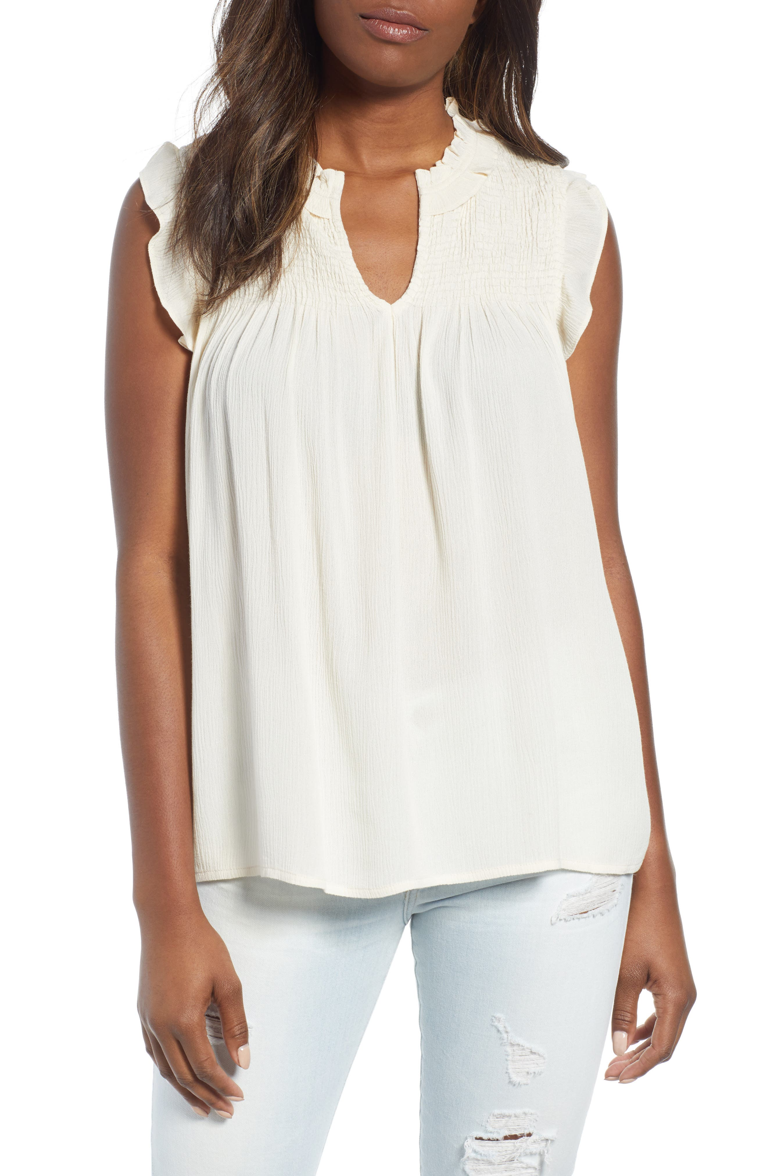 Theory Woman Button-detailed Draped Silk Blouse Ivory Size S Theory Cheap New Arrival aak3DEg