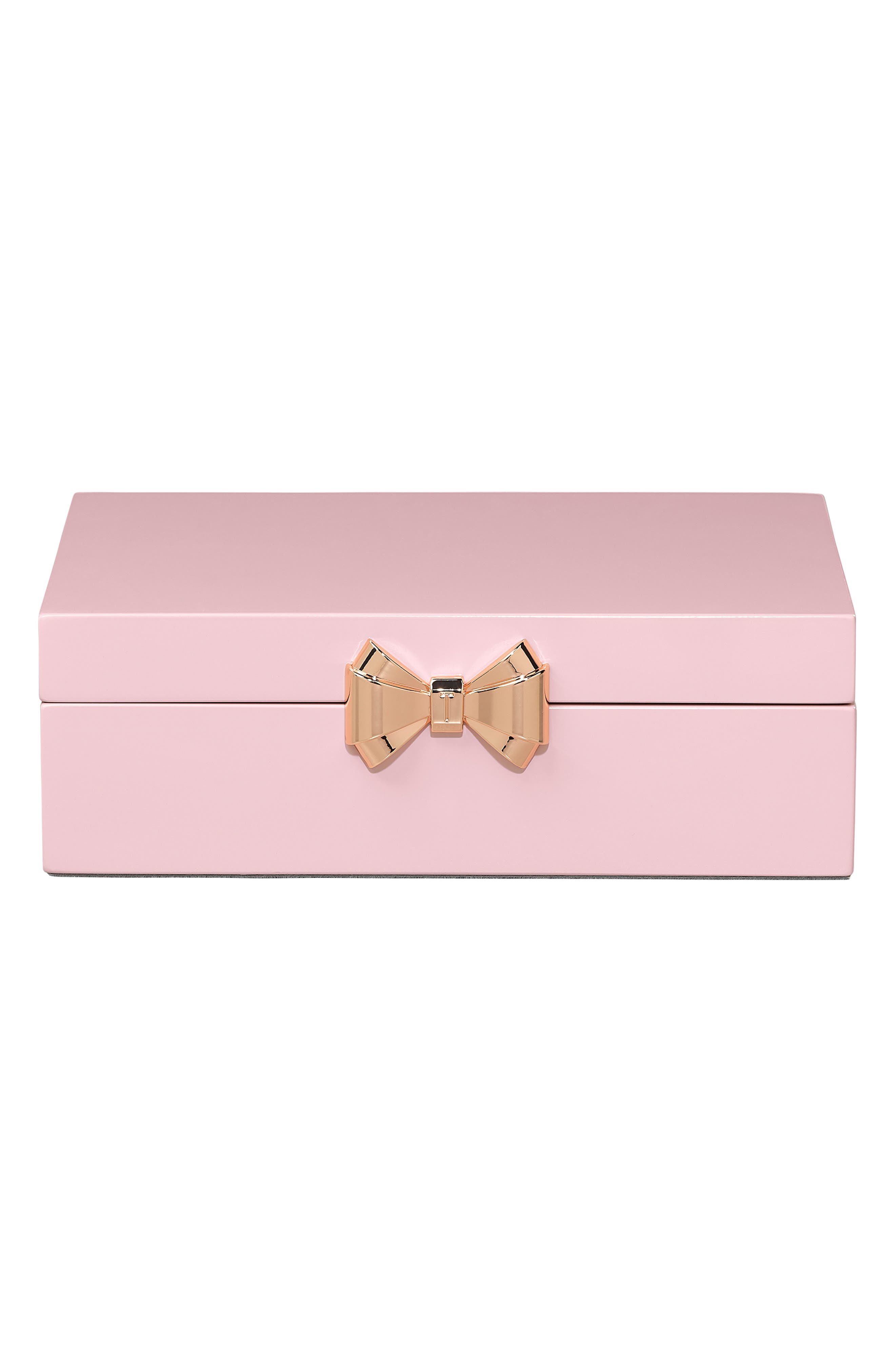 HINGED JEWELRY BOX - PINK