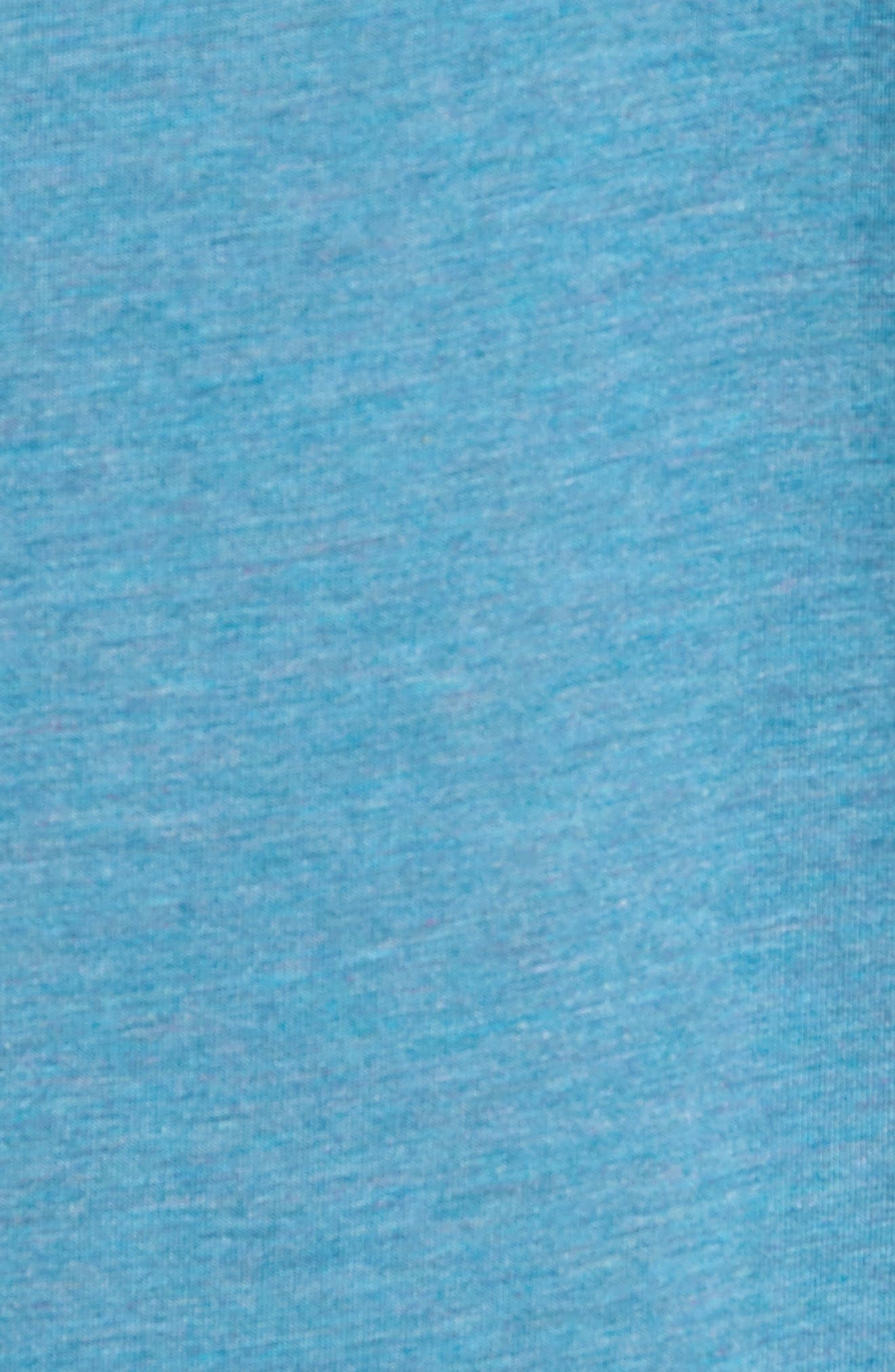 Charge II T-Shirt,                             Alternate thumbnail 5, color,                             Tranquility Sea Heather