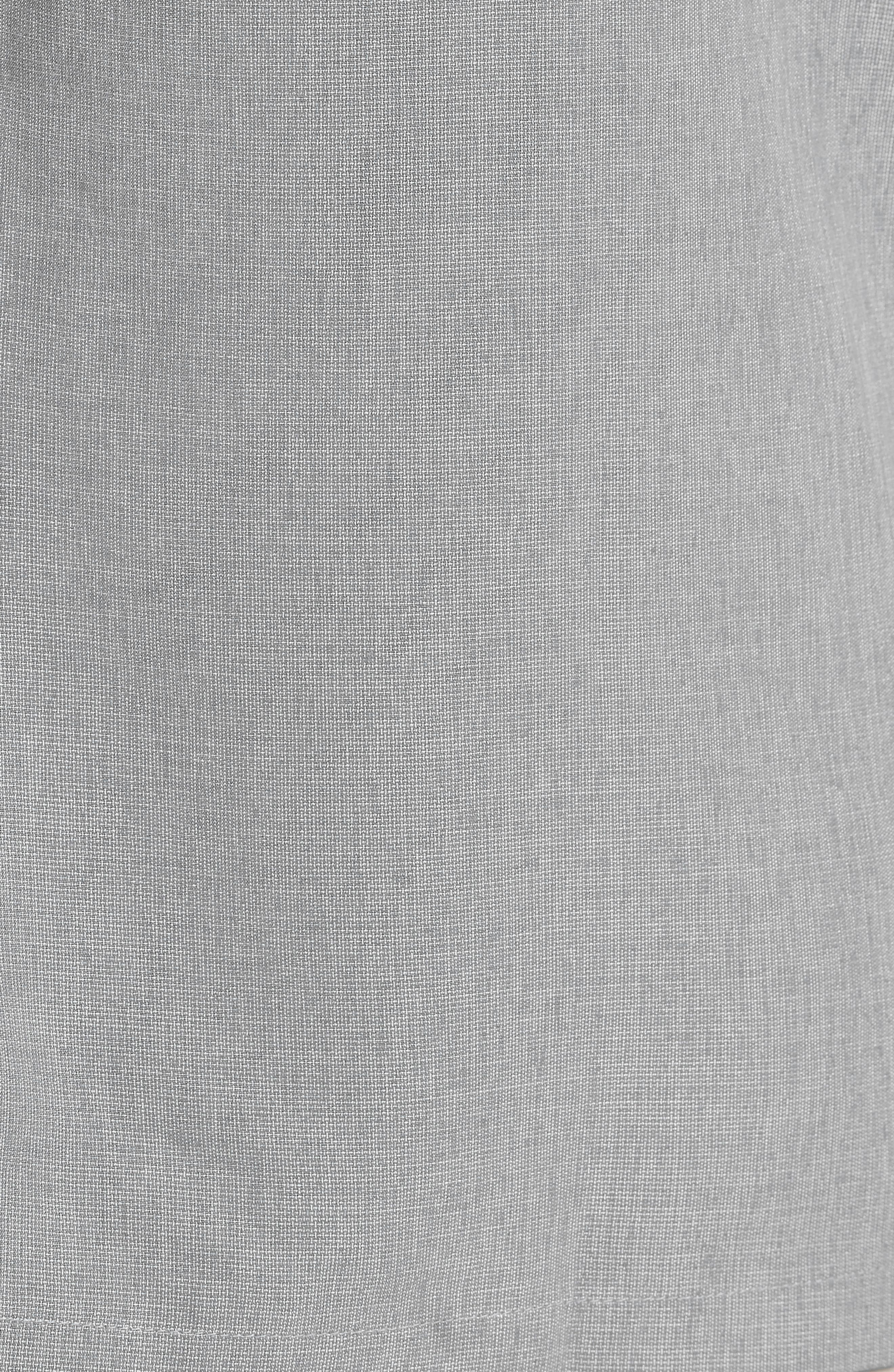 Liberty Regular Fit Short Sleeve Sport Shirt,                             Alternate thumbnail 8, color,                             Light Grey