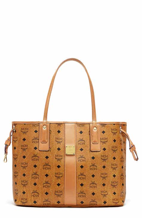 d350e5341 MCM Medium Liz Reversible Shopper