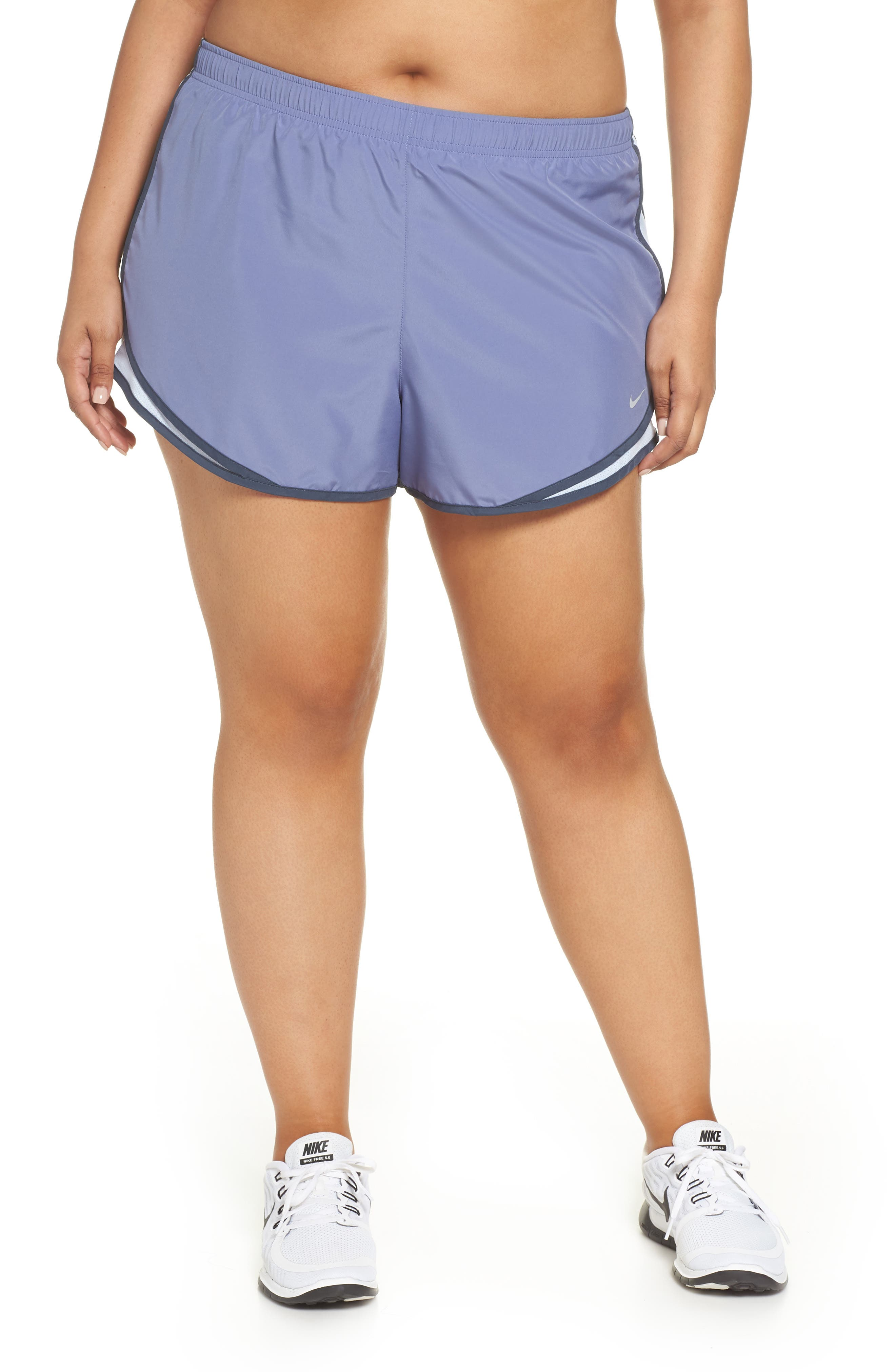 Dry Tempo Running Shorts,                         Main,                         color, Purple Slate/Wolf Grey