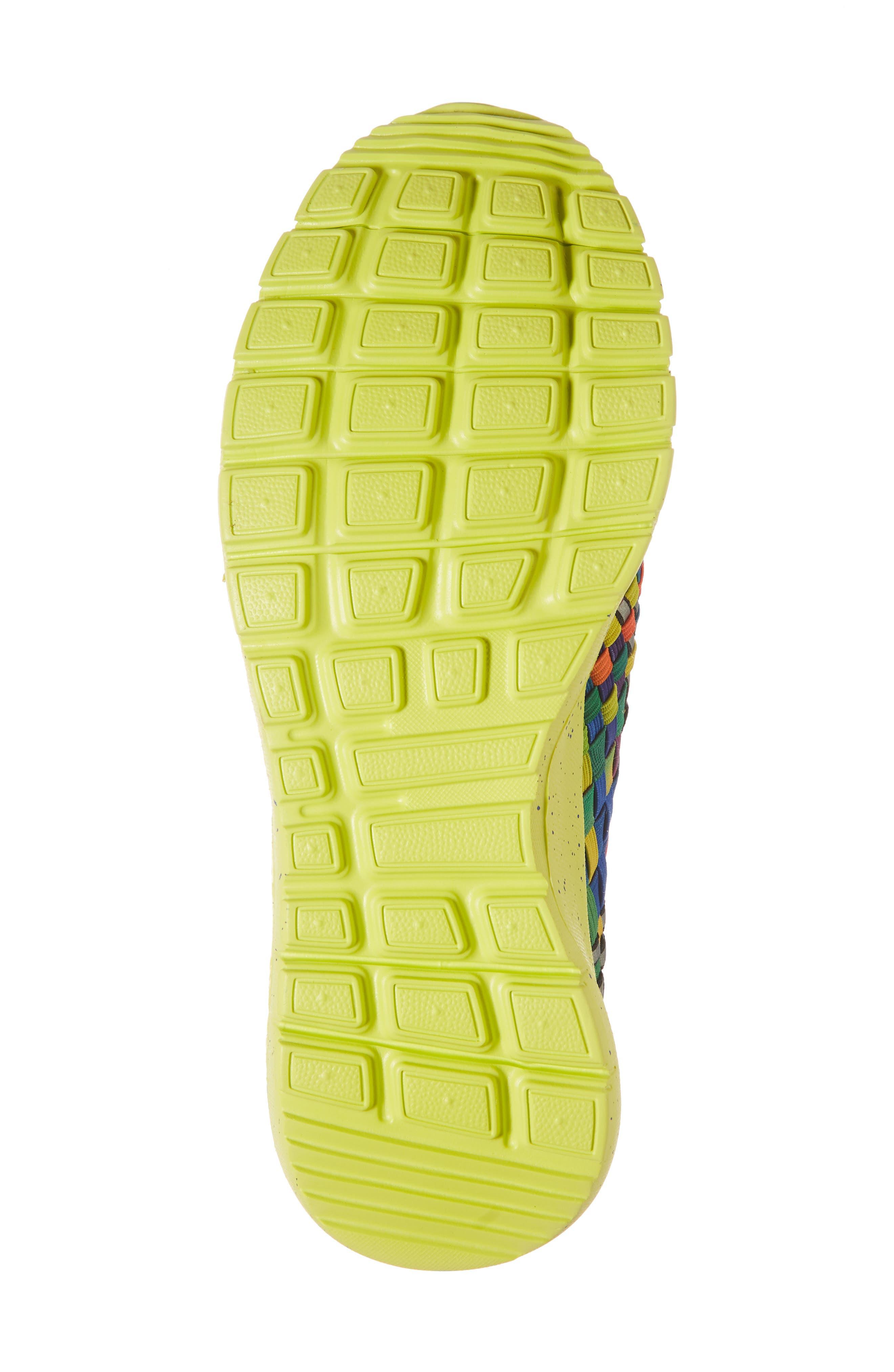 Runners Victoria Sneaker,                             Alternate thumbnail 6, color,                             Black Multi Reflective Fabric
