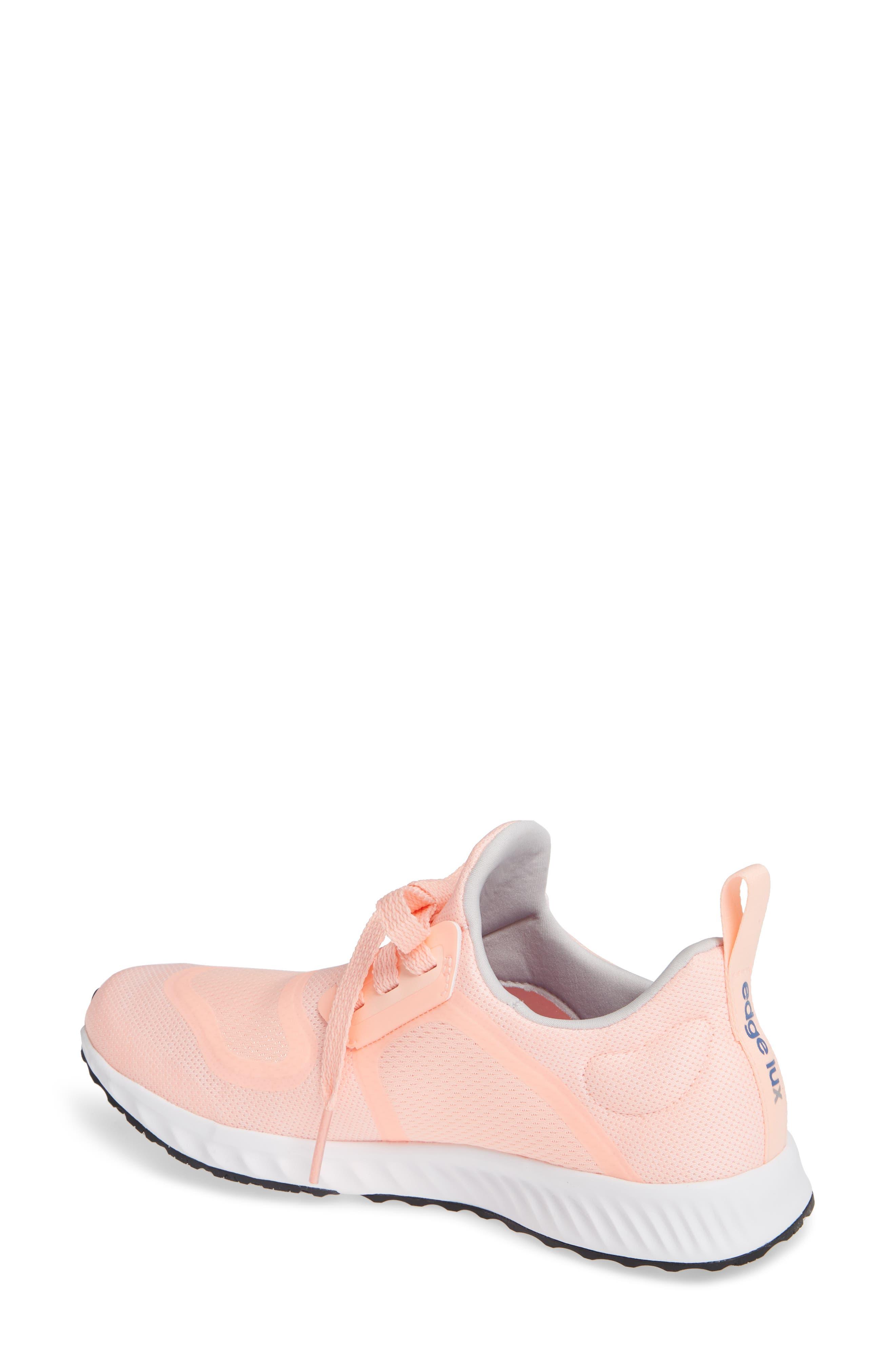 Edge Lux Clima Running Shoe,                             Alternate thumbnail 2, color,                             Clear Orange/ White