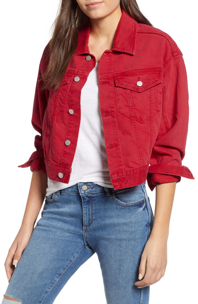 Annie Crop Denim Jacket