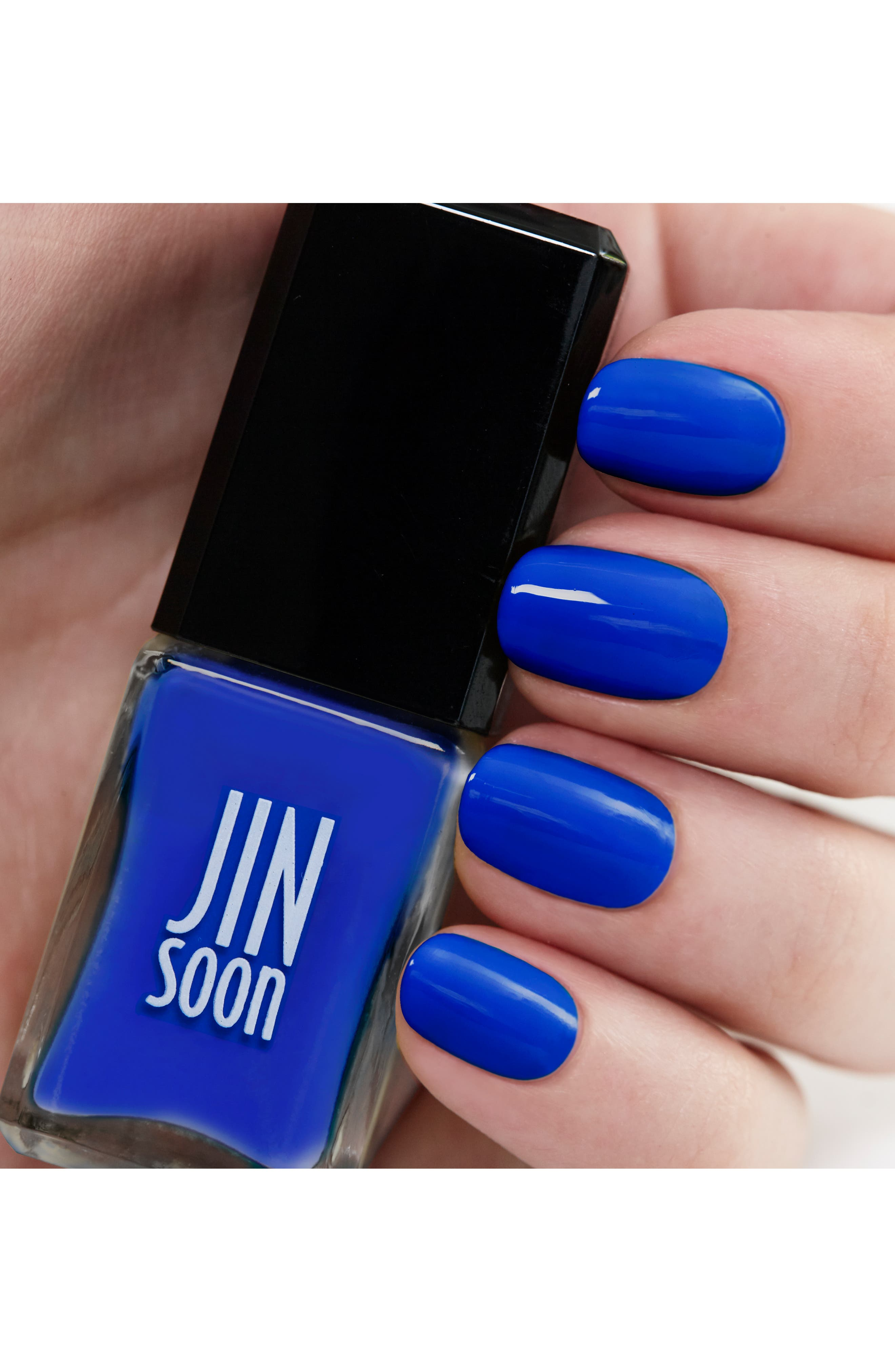 'Cool Blue' Nail Lacquer,                             Alternate thumbnail 2, color,                             Cool Blue