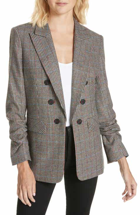 Veronica Beard Beacon Check Dickey Jacket by VERONICA BEARD