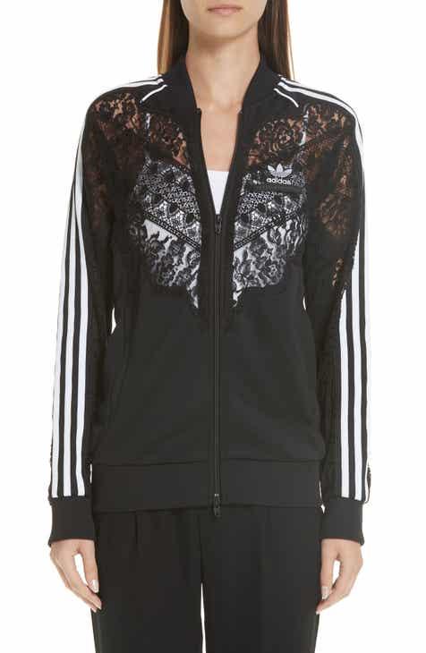 a7ccb42980 Stella McCartney Lace Inset adidas Track Jacket