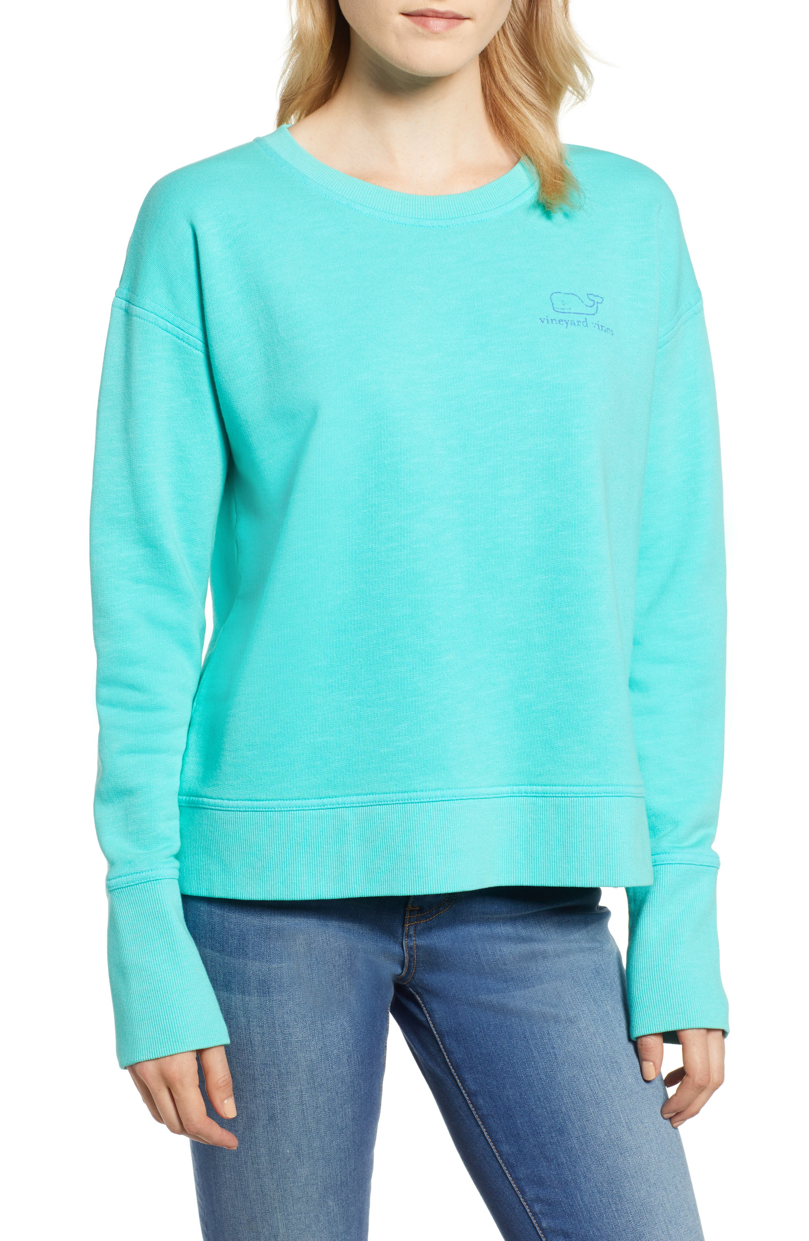 GARMENT DYED VINTAGE WHALE LONG SLEEVE COTTON TEE from Nordstrom