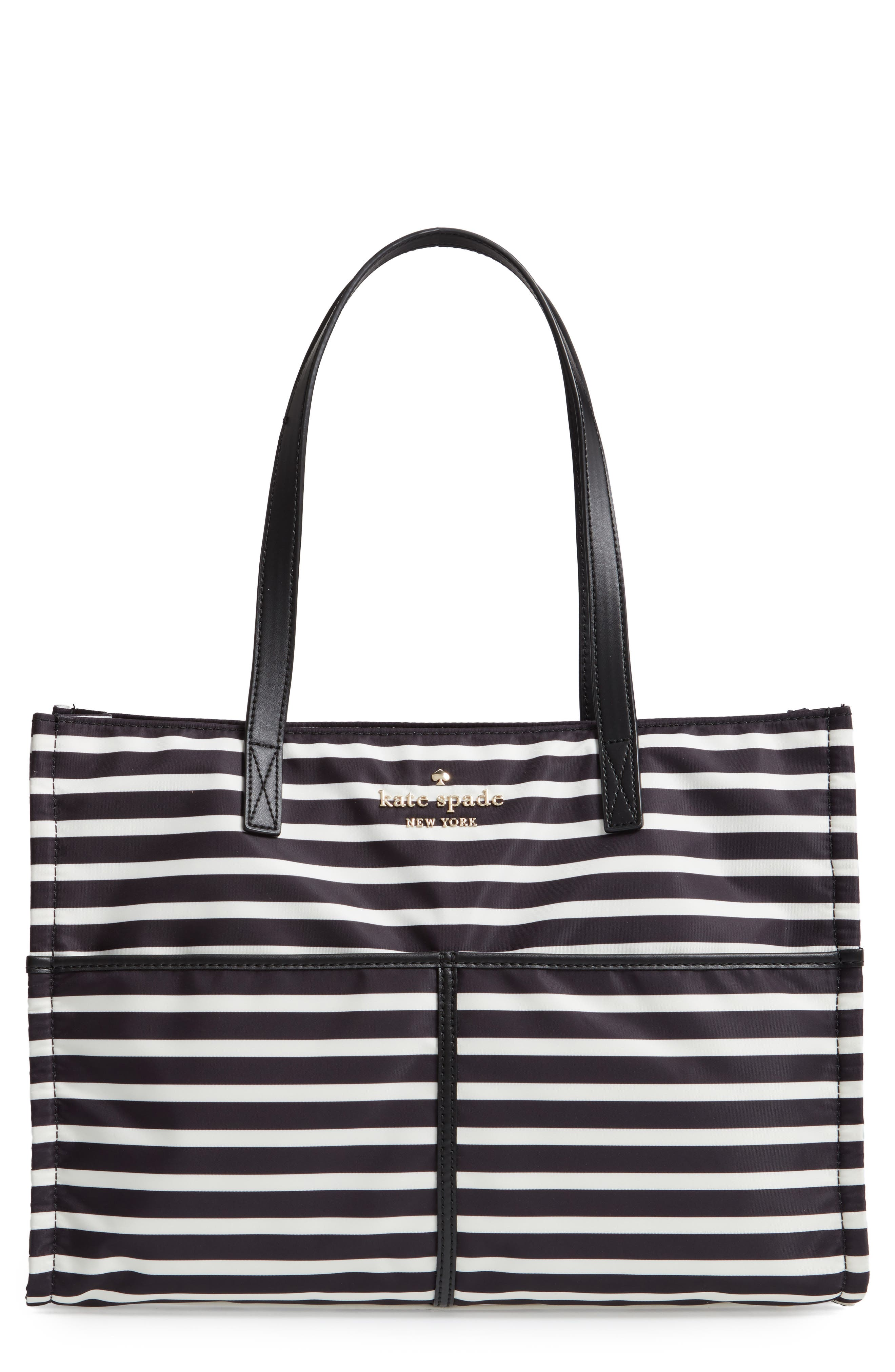 KATE SPADE WATSON LANE LARGE SAM BAG - BLACK