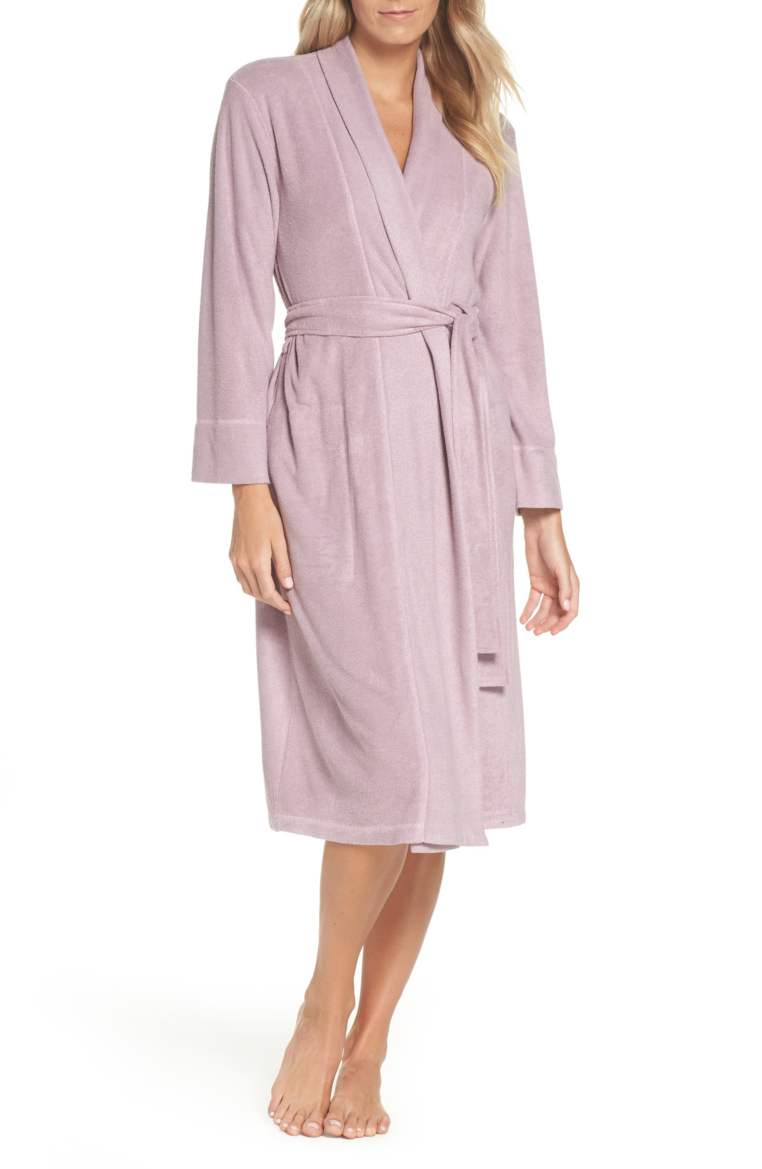 terry cloth bathrobe. Natori Himalaya Brushed Terry Robe Cloth Bathrobe