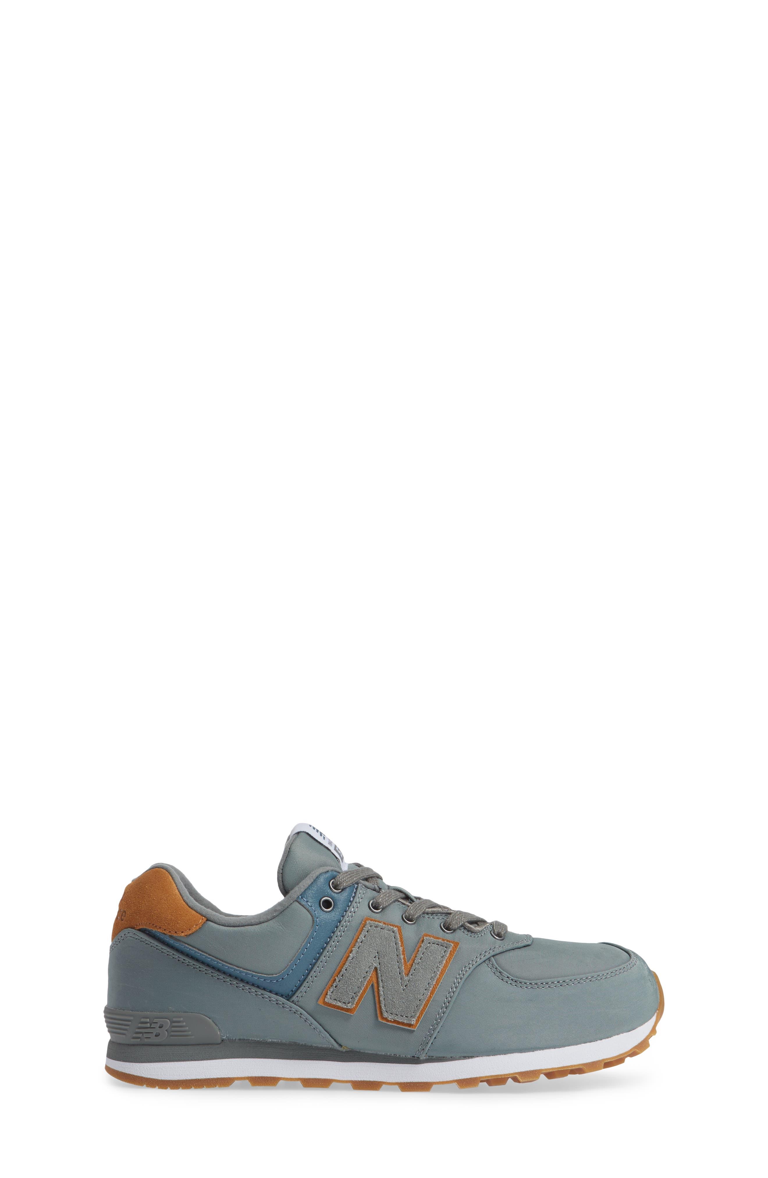 574 Essentials Sneaker,                             Alternate thumbnail 3, color,                             Sedona Sage