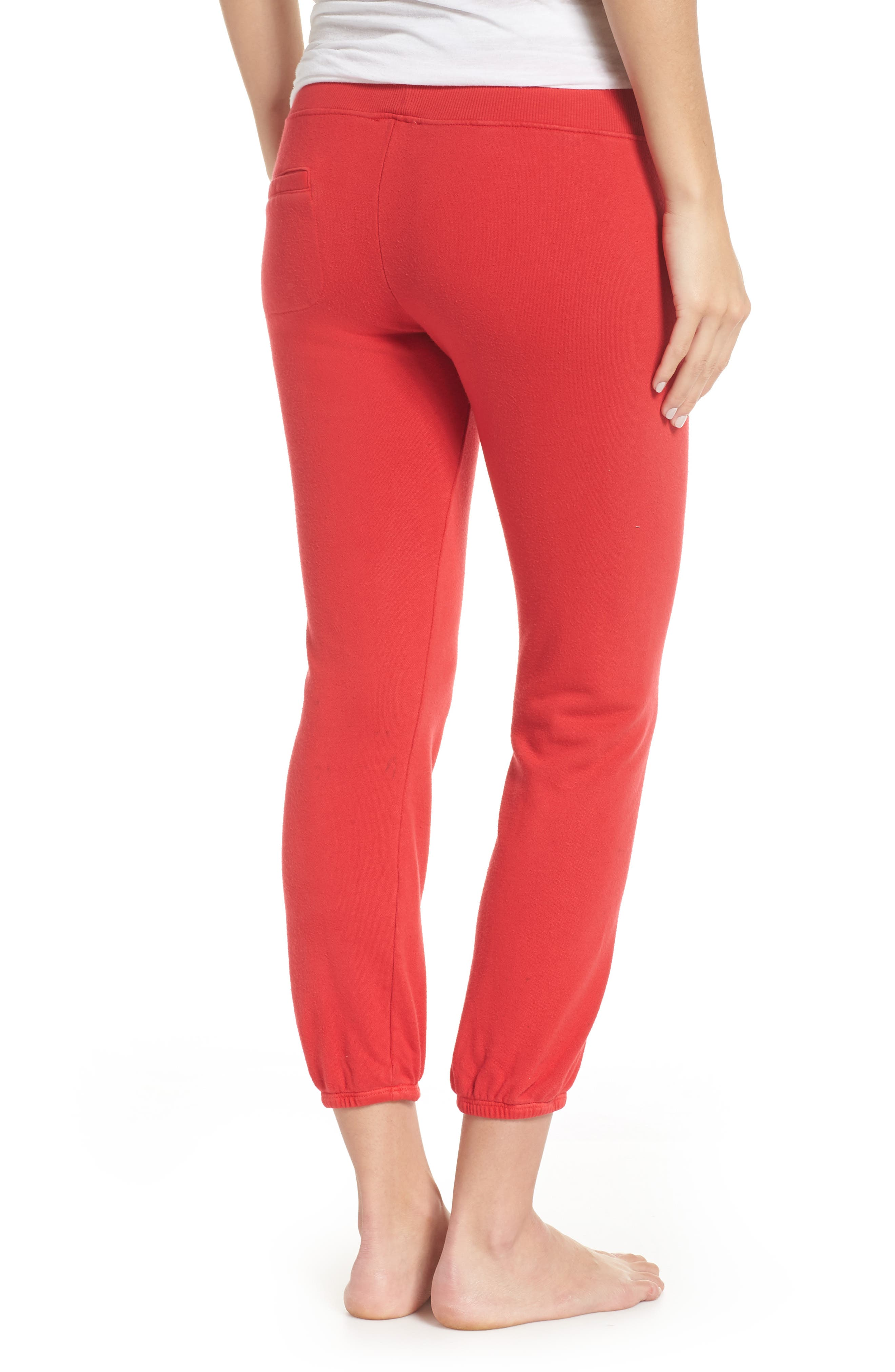 Loung Sweatpants,                             Alternate thumbnail 2, color,                             Poppy