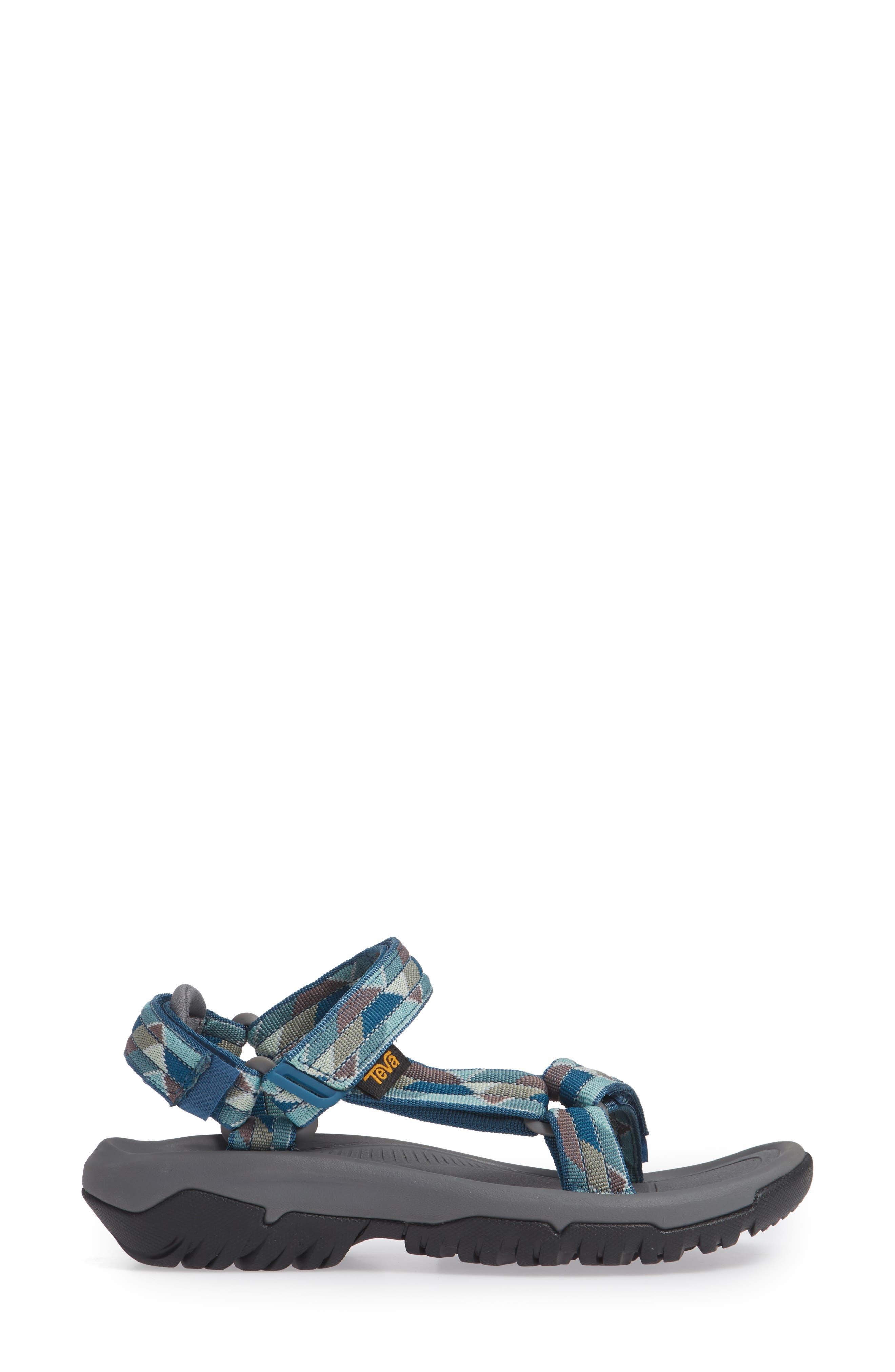 Hurricane XLT 2 Sandal,                             Alternate thumbnail 5, color,                             Blue Fabric