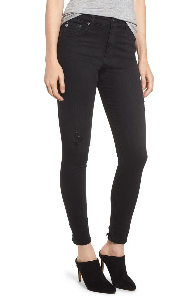 The Farrah High Waist Ankle Skinny Jeans
