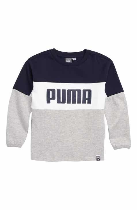 6262e5c43855 Puma Fleece Sweatshirt (Toddler Boys   Big Boys)
