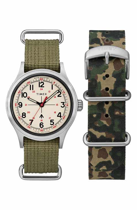 440e26d55771 Timex® x Todd Snyder The Military NATO Strap Watch Set