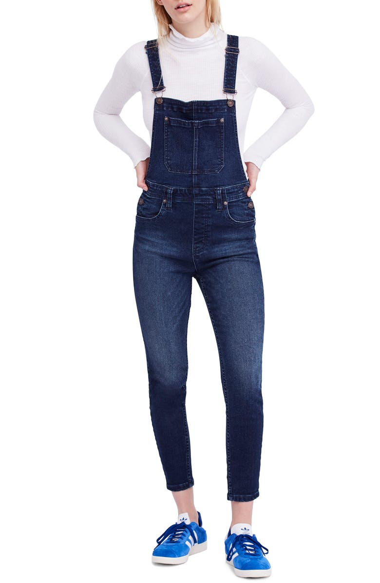 Ankle Skinny Fit Overalls