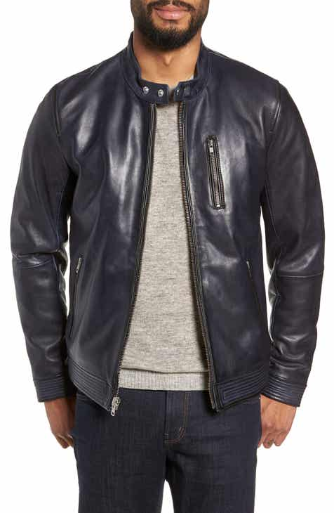 b1418faccce Men s Leather (Genuine) Coats   Jackets