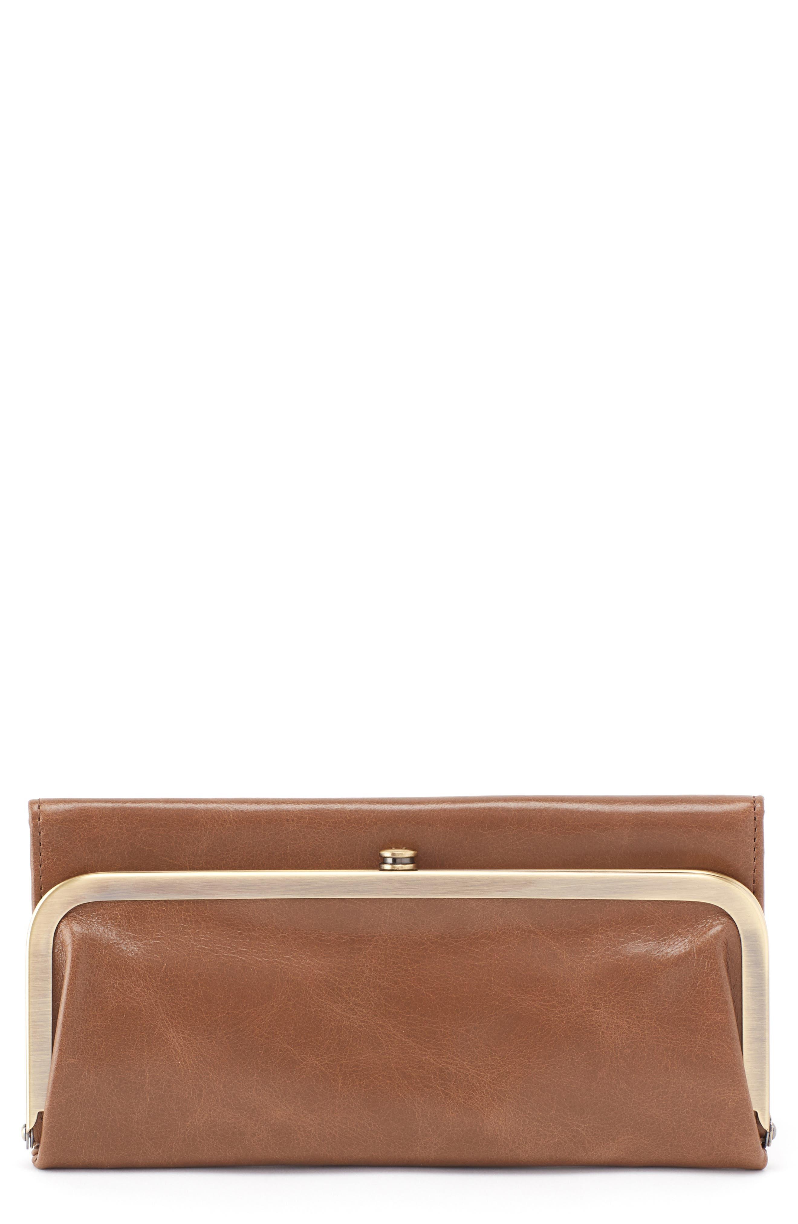 Rachel Frame Wallet,                         Main,                         color, Mink