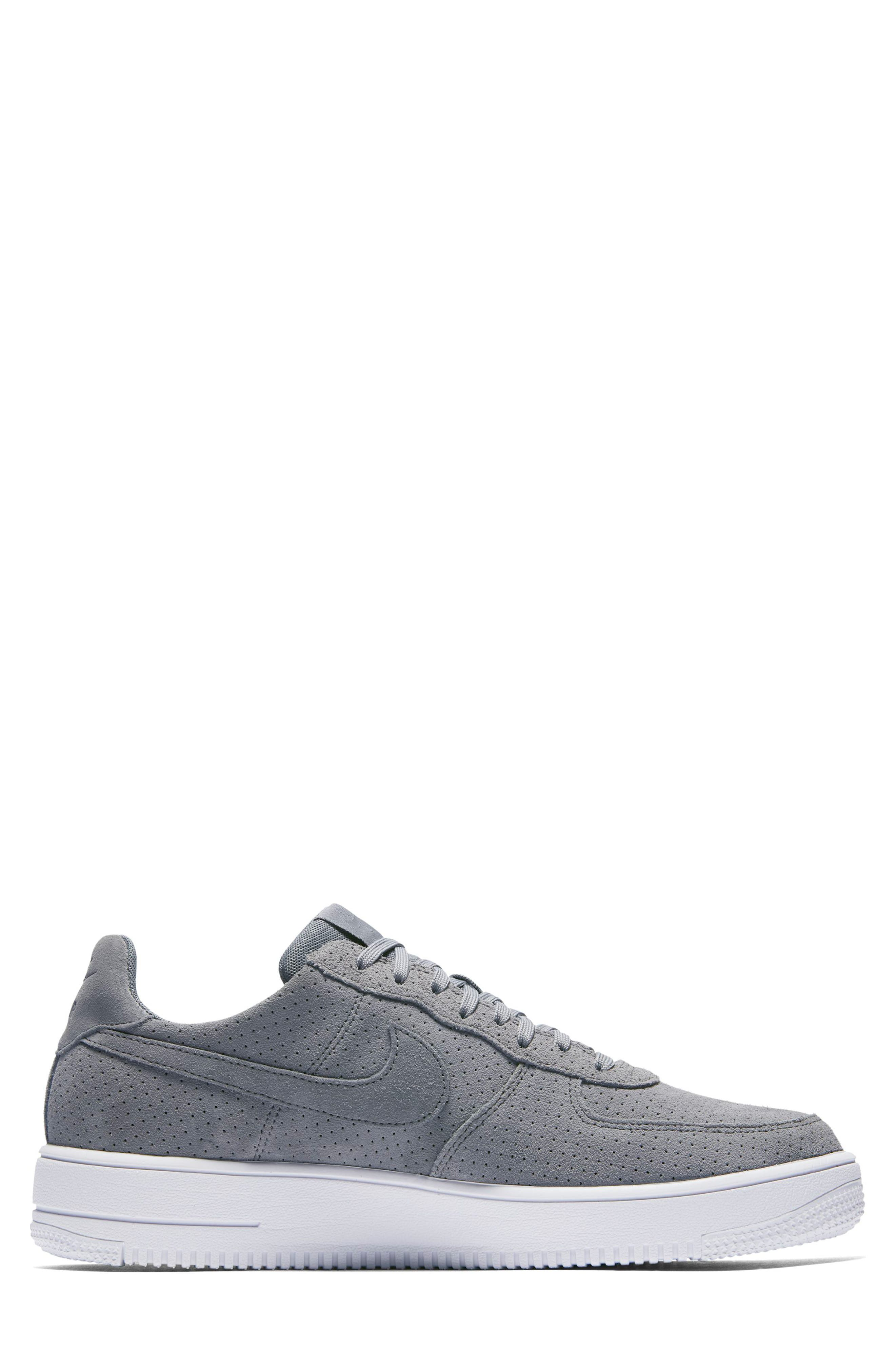 Air Force 1 Ultraforce Sneaker,                             Alternate thumbnail 2, color,                             Cool Grey/ White