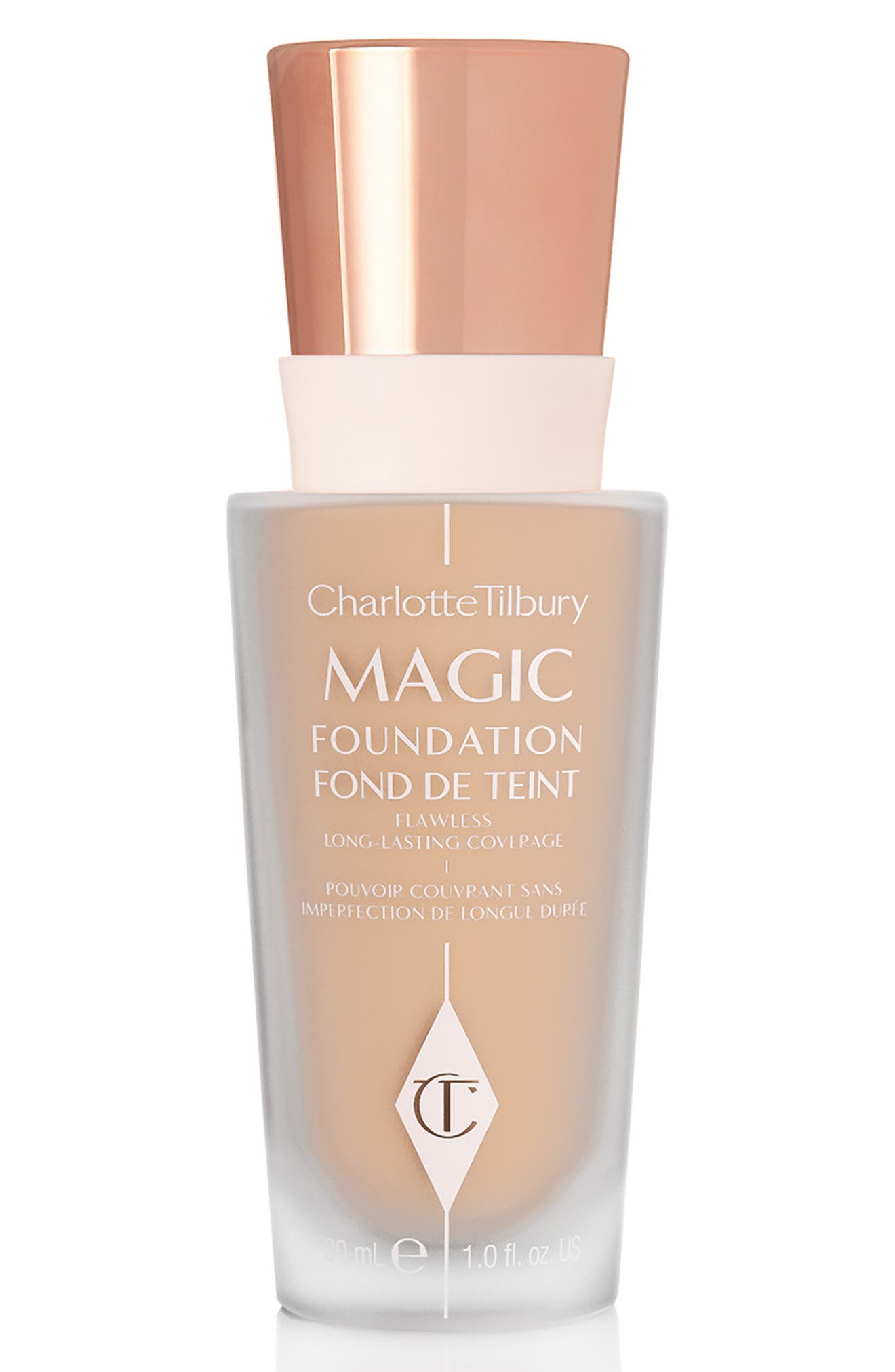CHARLOTTE TILBURY MAGIC FOUNDATION BROAD SPECTRUM SPF 15 - 5 MEDIUM