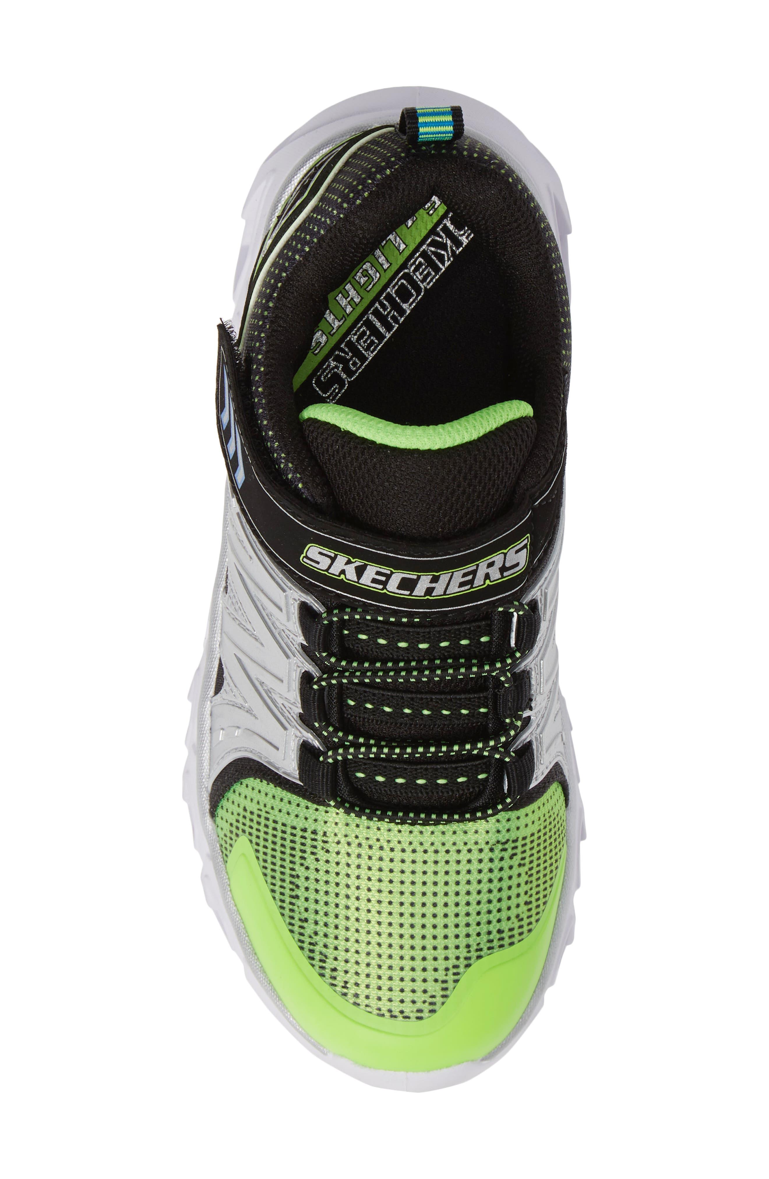 Hypno-Flash 2.0 Sneakers,                             Alternate thumbnail 5, color,                             Lime/ Black