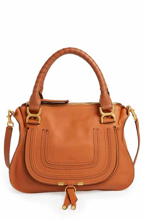 83c44bd9f69b Chloé  Medium Marcie  Leather Satchel