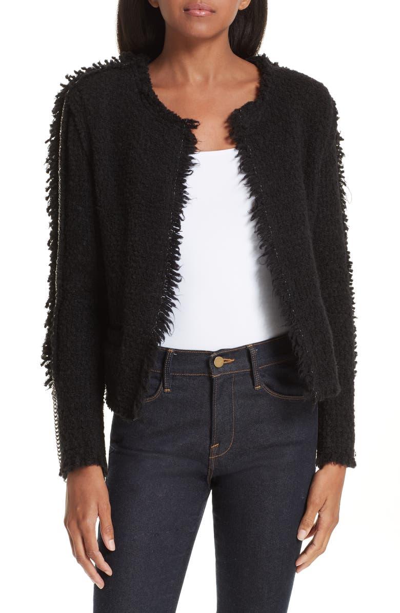 Giants Chain Trim Tweed Jacket