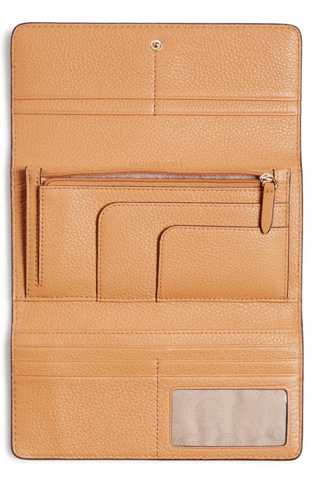 Alternate Image 4  - MICHAEL Michael Kors 'Fulton' Trifold Leather Wallet