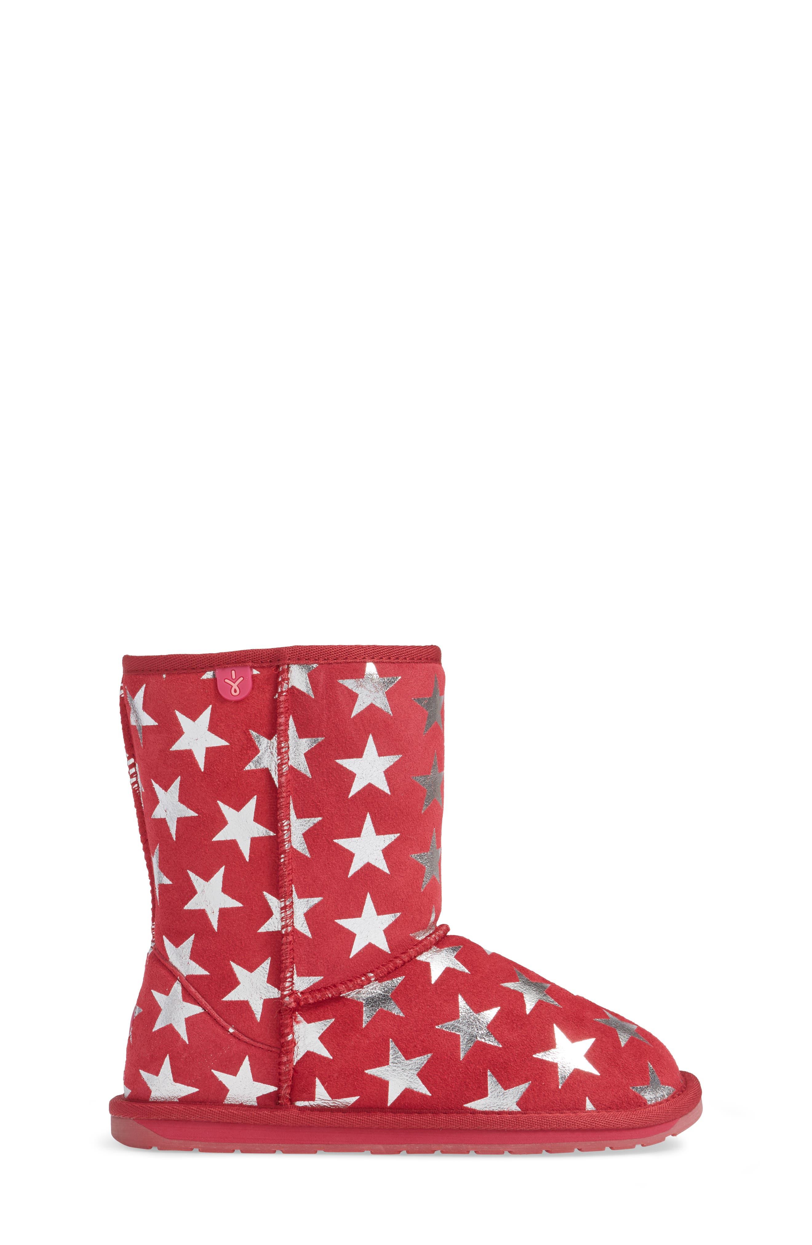 EMUAustralia Starry Night Boot,                             Alternate thumbnail 3, color,                             Fuchsia