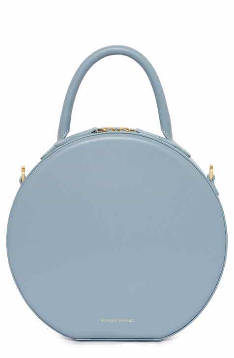 Mansur Gavriel Leather Circle Crossbody Bag