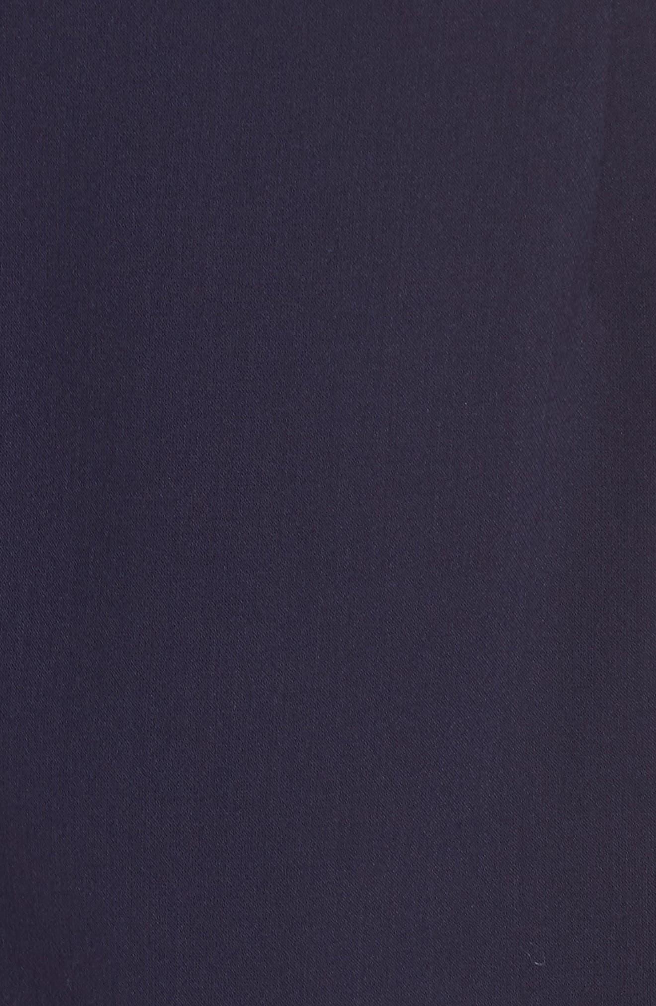 Whisper Light Sheath Dress,                             Alternate thumbnail 4, color,                             Duchess Blue