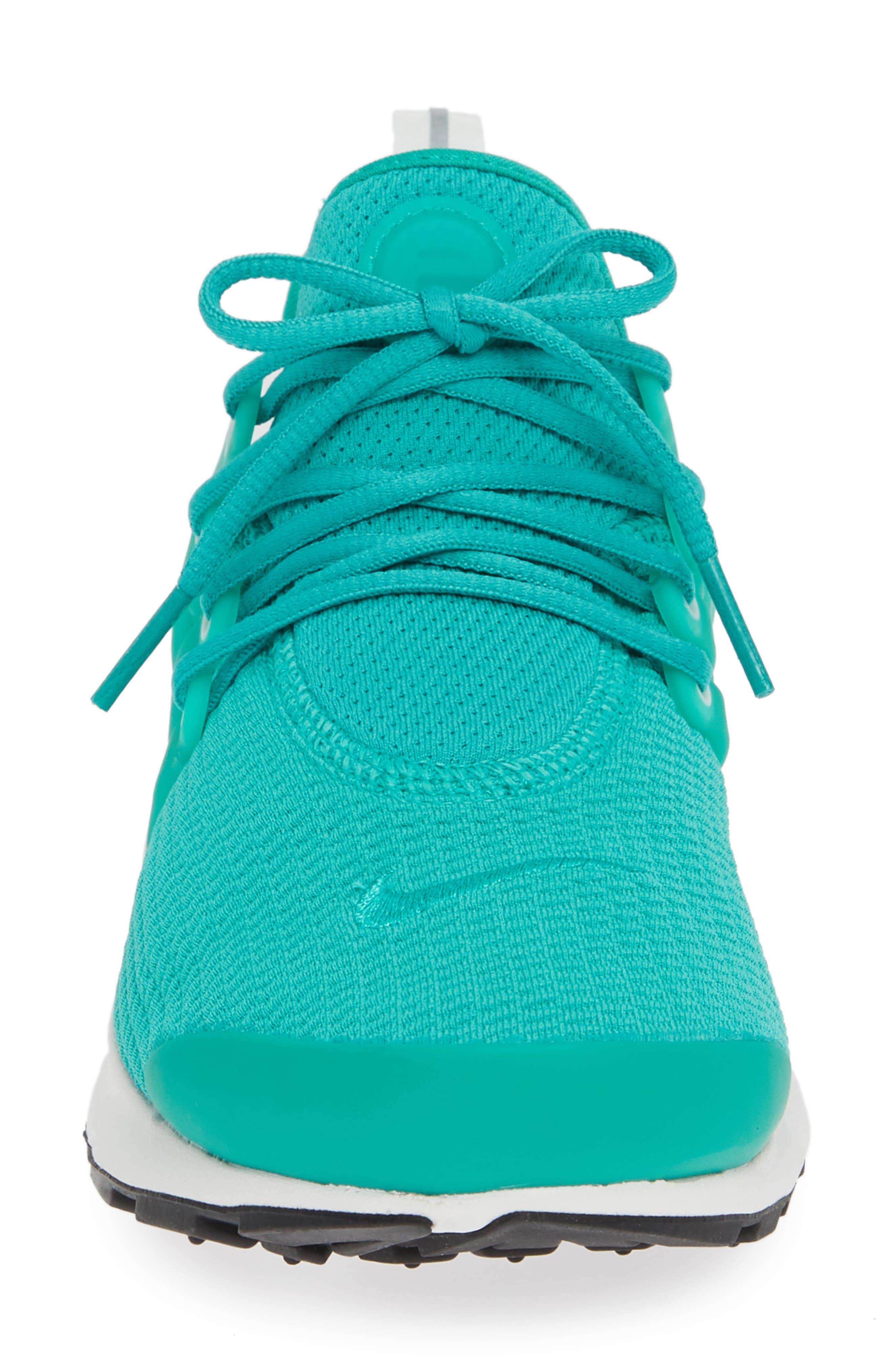 Air Presto Sneaker,                             Alternate thumbnail 4, color,                             Clear Emerald/ Summit White