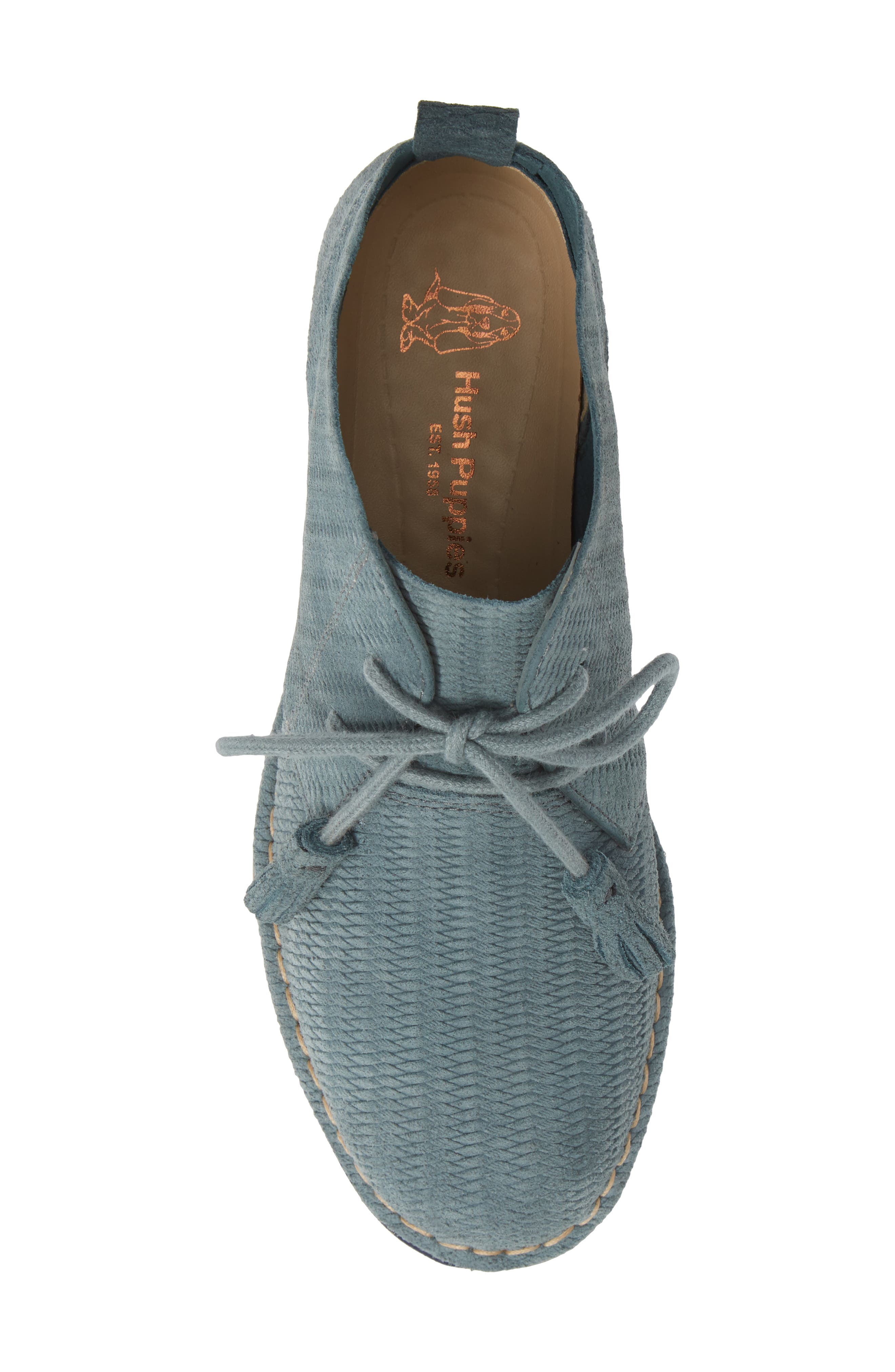 'Cyra Catelyn' Chukka Boot,                             Alternate thumbnail 5, color,                             Storm Embossed Suede