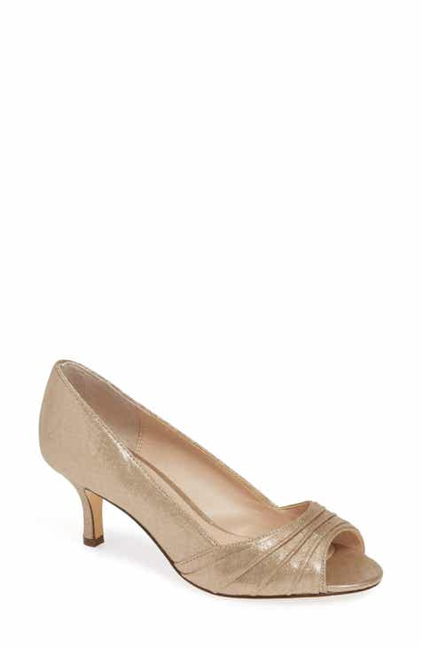 00dfced642f Nina Chezare Peep Toe Pump (Women)