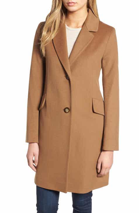 4d065f2f8a0fa Women s Brown Wool   Wool-Blend Coats