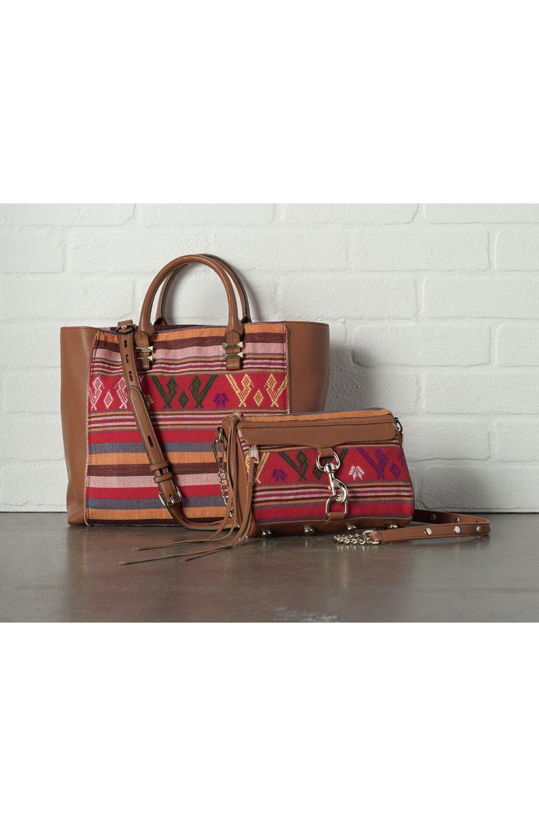 Piece & Co. and Rebecca Minkoff 'Mini MAC' Convertible Crossbody Bag,                             Alternate thumbnail 9, color,                             Orange Multi
