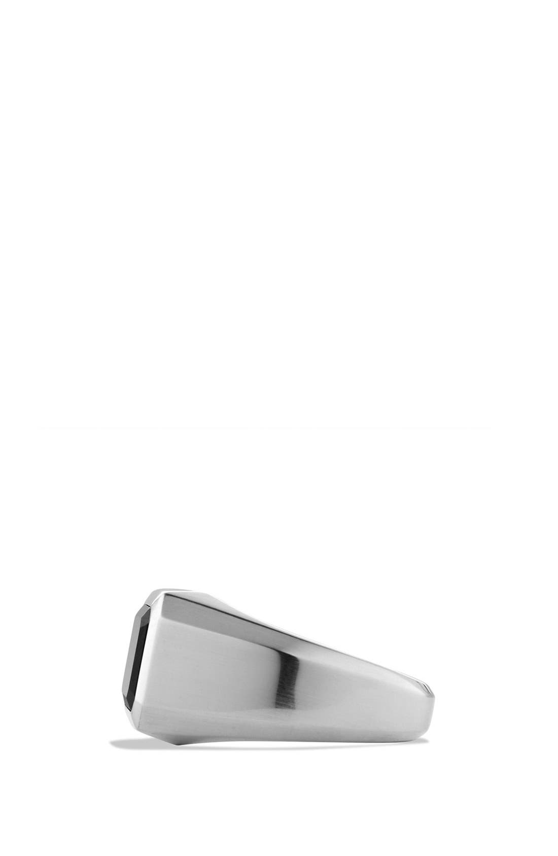 Alternate Image 2  - David Yurman 'Exotic Stone' Signet Ring with Semiprecious Stone