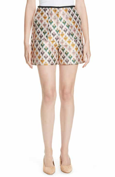 eb60cab302318 Ted Baker London Colour by Numbers Tedda Heart Jacquard Shorts ...